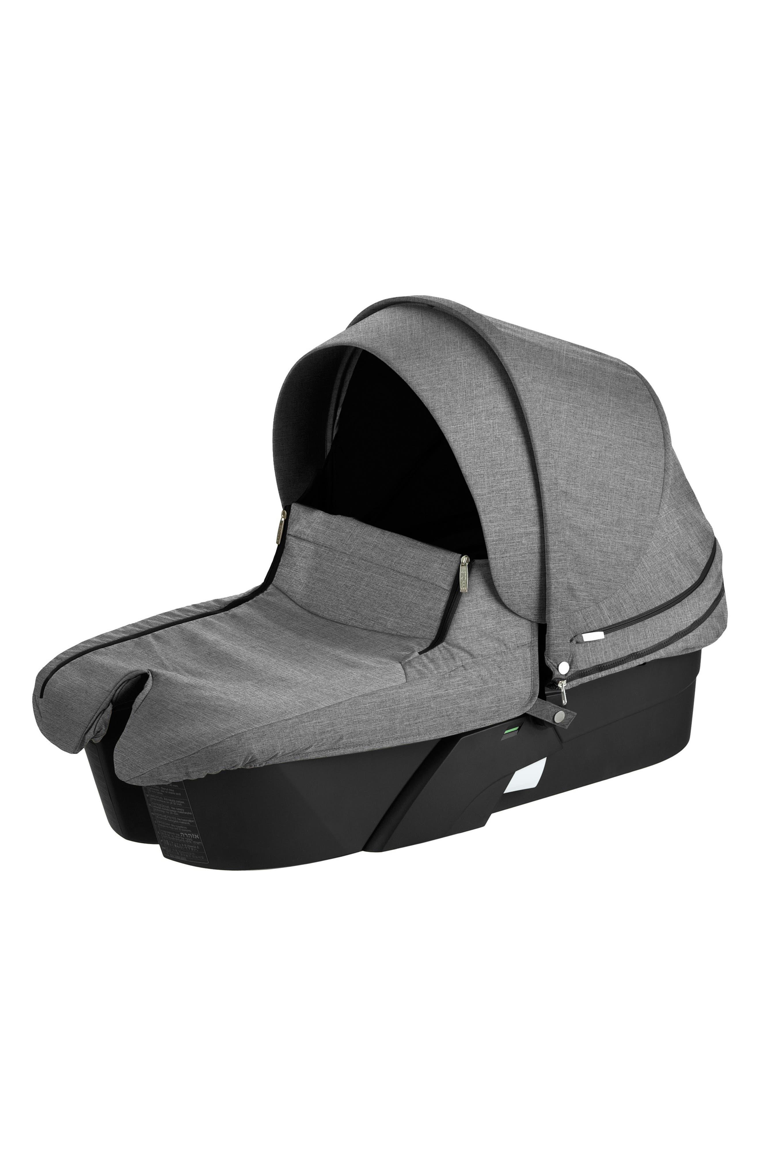 Xplory<sup>®</sup> Stroller Carry Cot,                         Main,                         color, BLACK