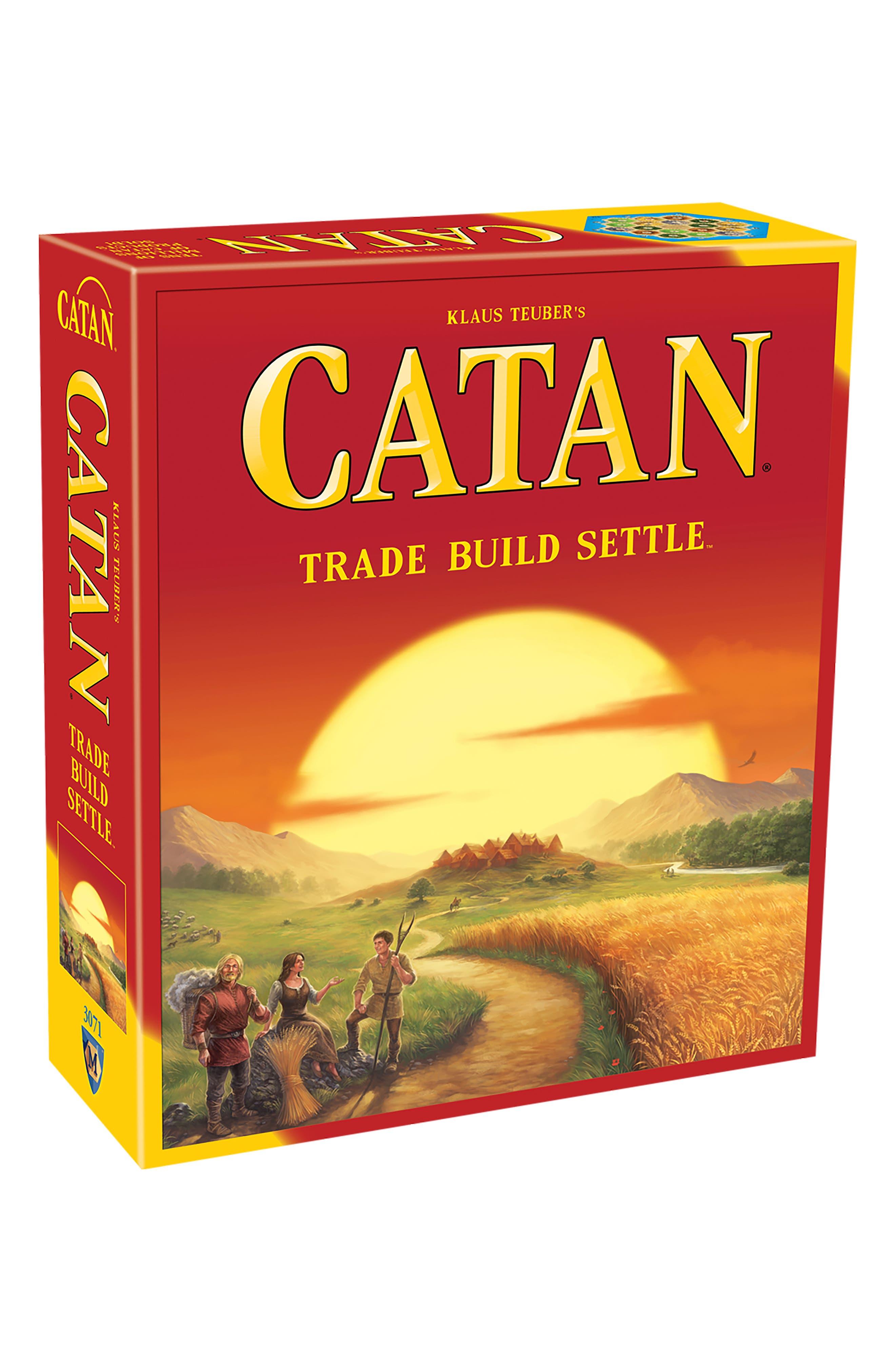 Catan Board Game,                             Main thumbnail 1, color,                             600