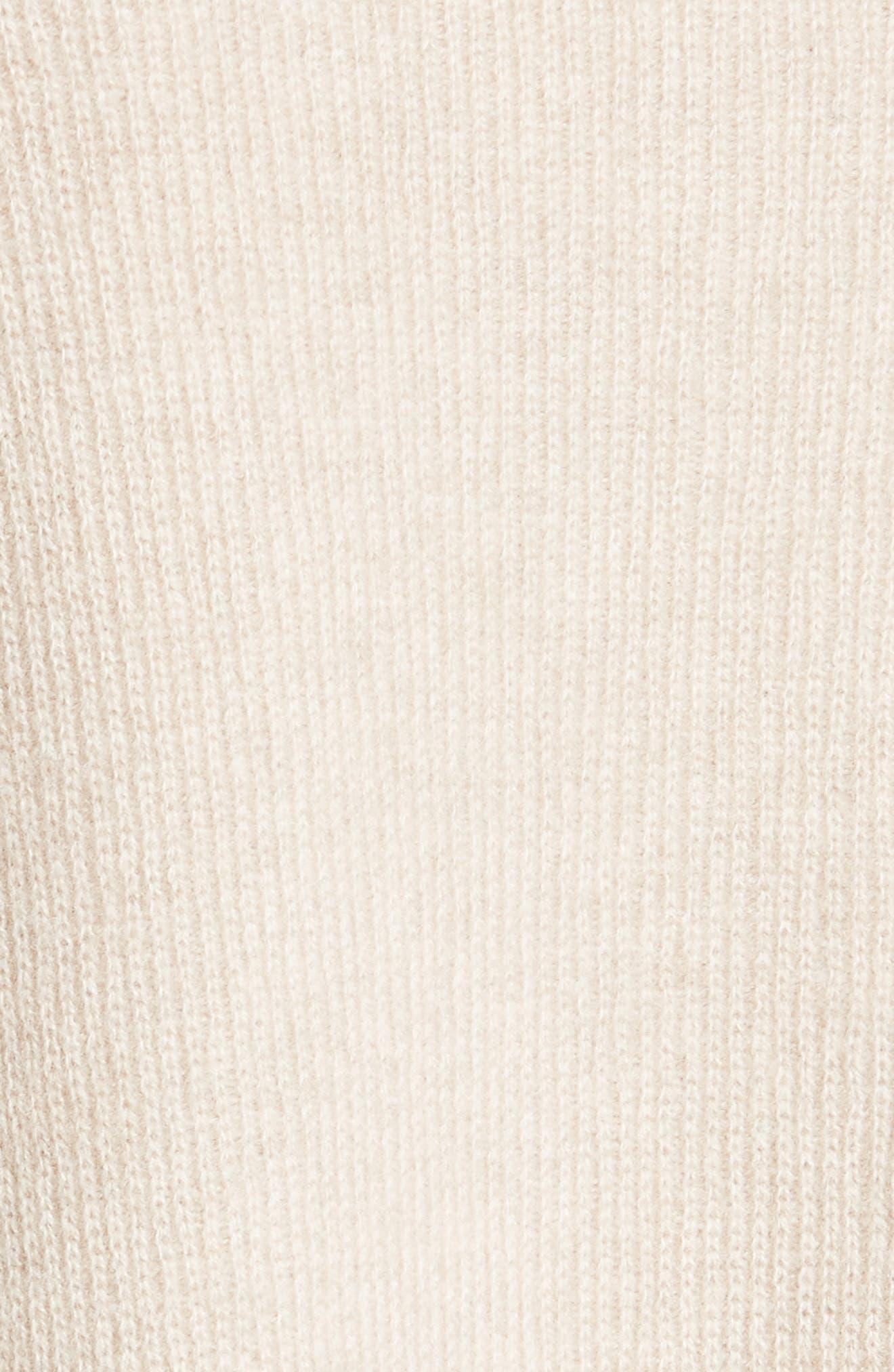 VINCE,                             Boxy Cashmere Sweater,                             Alternate thumbnail 5, color,                             233