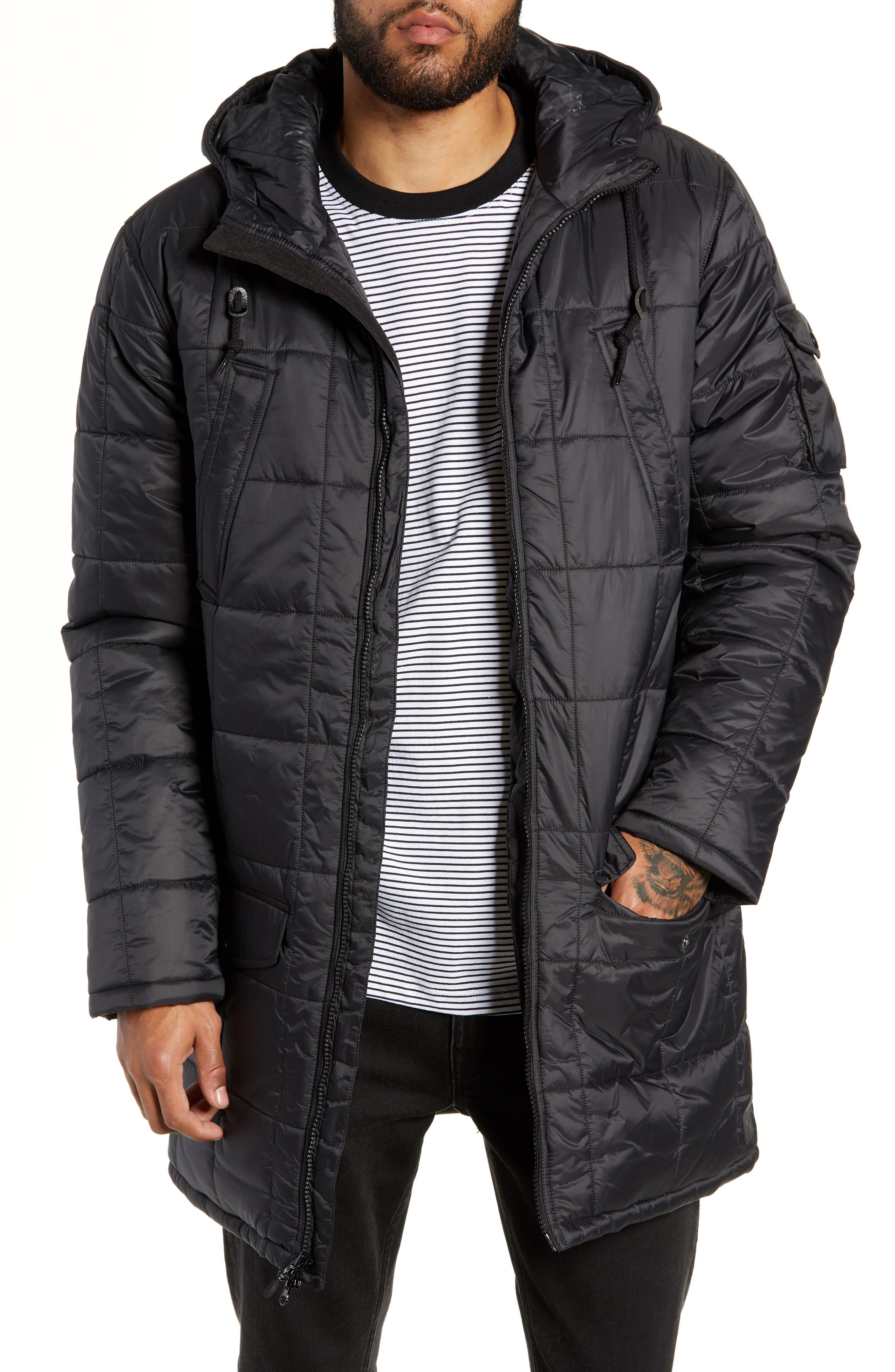Providence MTE Quilted Jacket,                             Main thumbnail 1, color,                             001