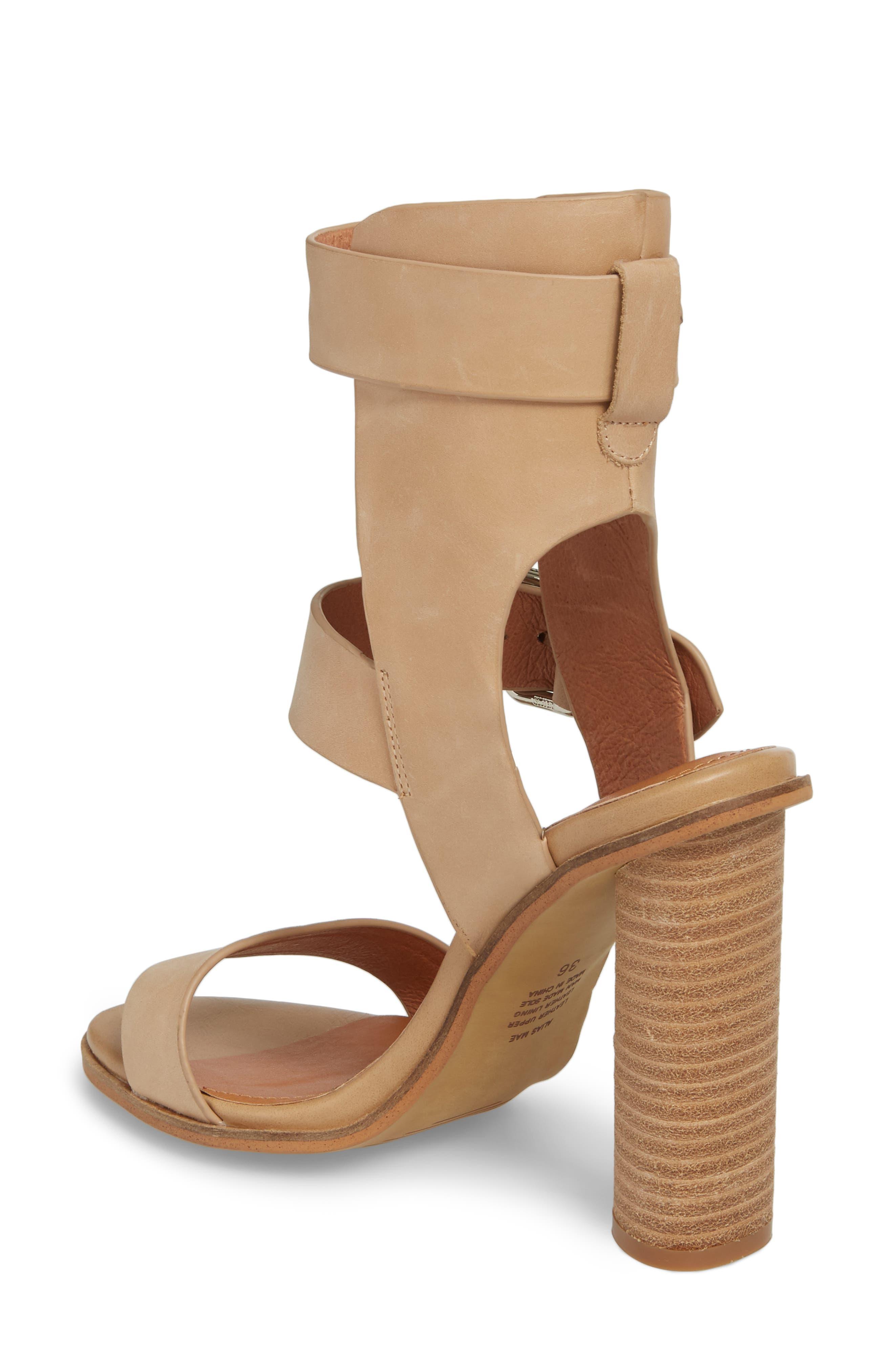 Abeba Block Heel Sandal,                             Alternate thumbnail 6, color,