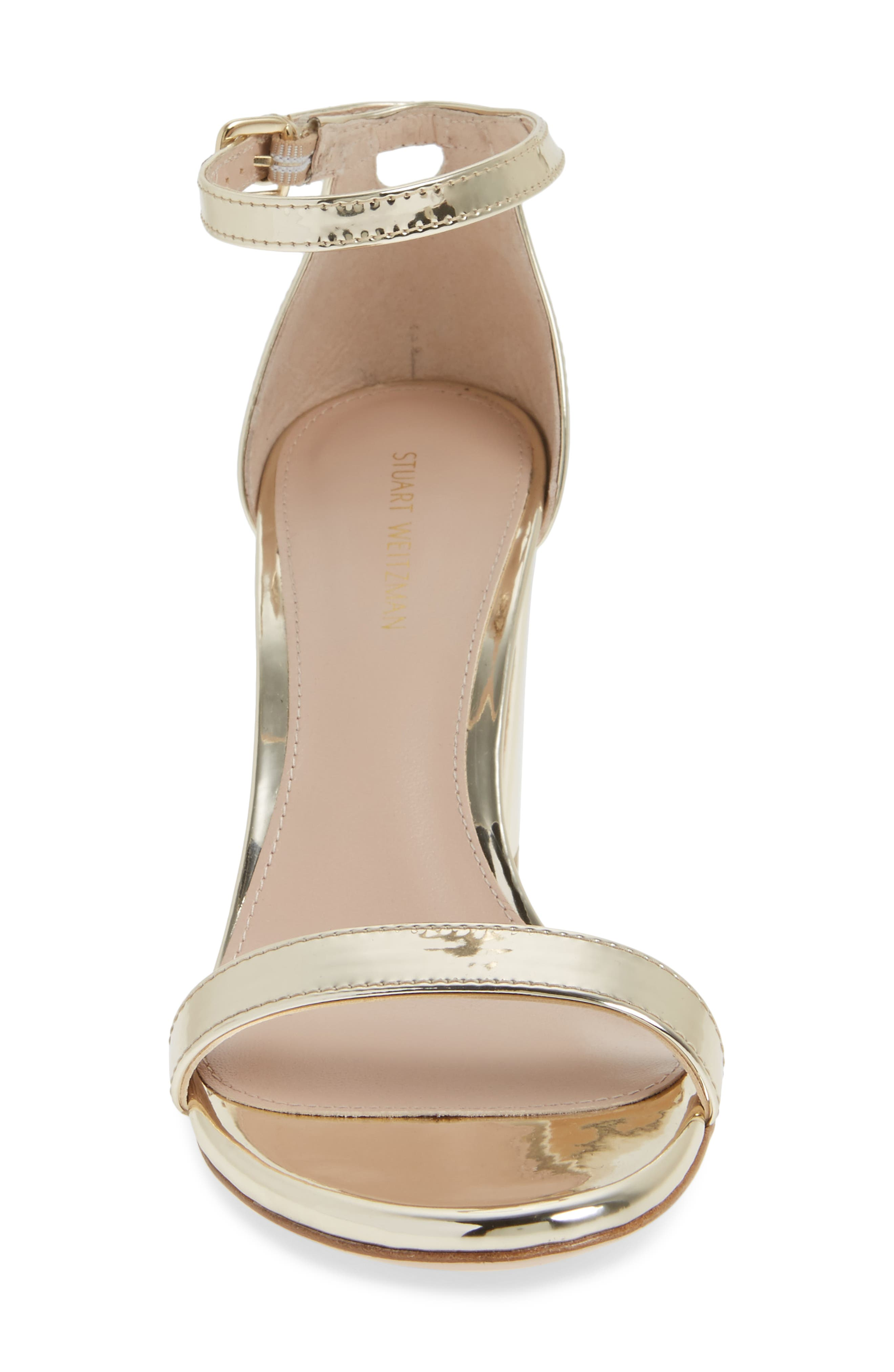 NearlyNude Ankle Strap Sandal,                             Alternate thumbnail 90, color,
