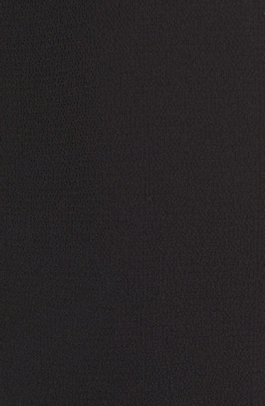 BOBEAU,                             Mock Neck Sleeveless High/Low Tunic,                             Alternate thumbnail 3, color,                             012