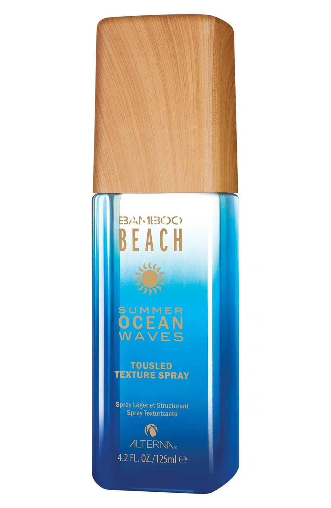ALTERNA<SUP>®</SUP> 'Bamboo Beach - Summer Ocean Waves' Tousled Texture Spray, Main, color, 000