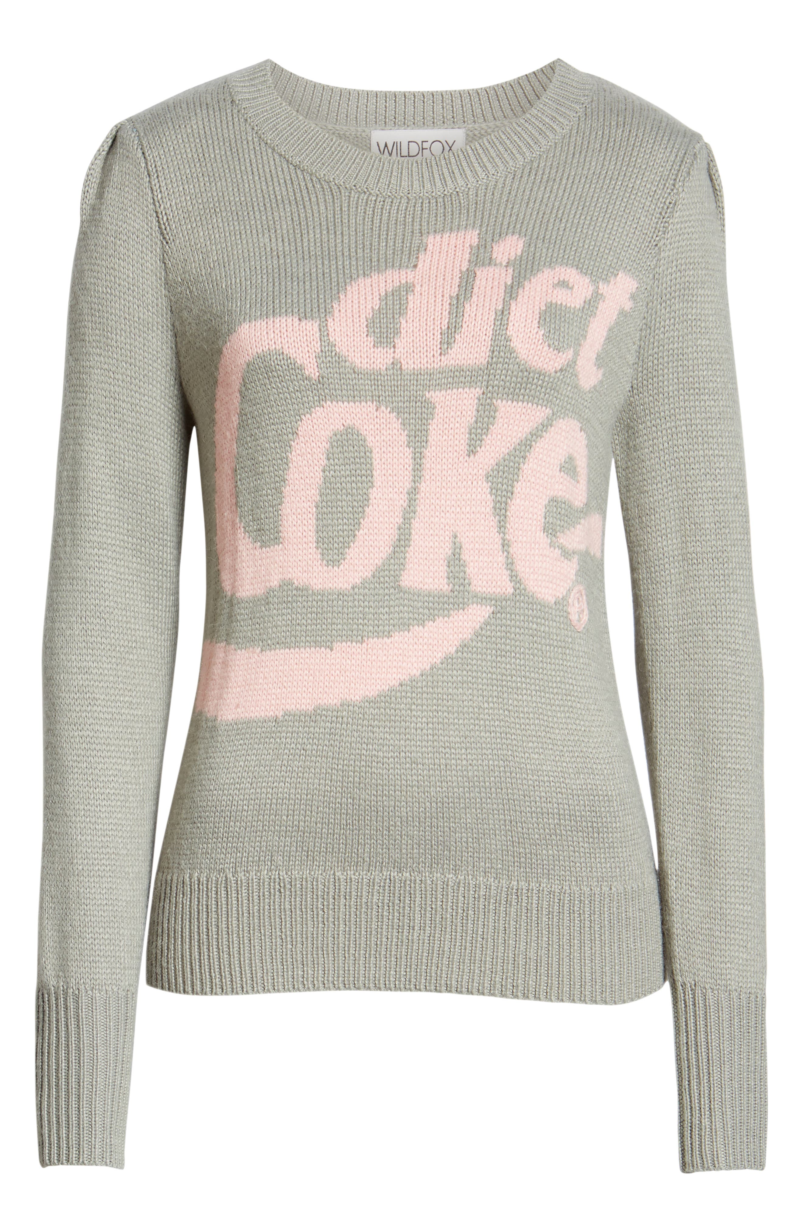 WILDFOX,                             Diet Coke<sup>®</sup> Sweater,                             Alternate thumbnail 6, color,                             050