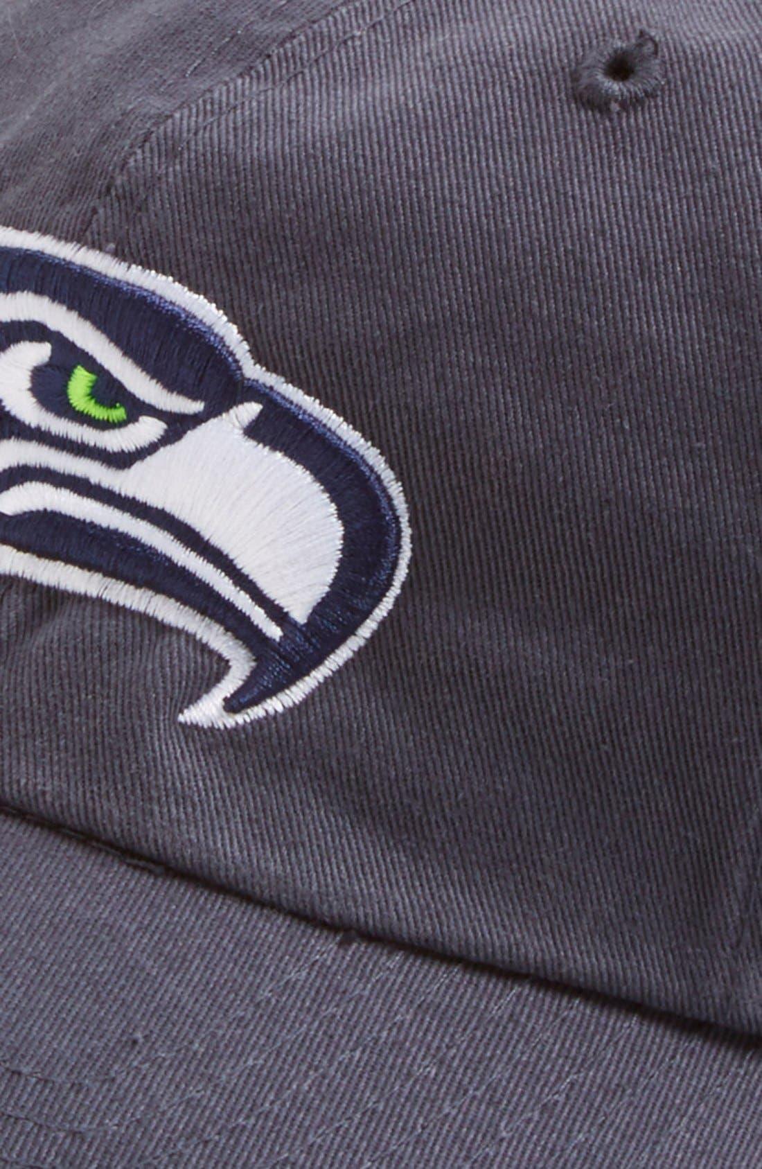 'Seattle Seahawks - Clean Up' Cap,                             Alternate thumbnail 3, color,                             410