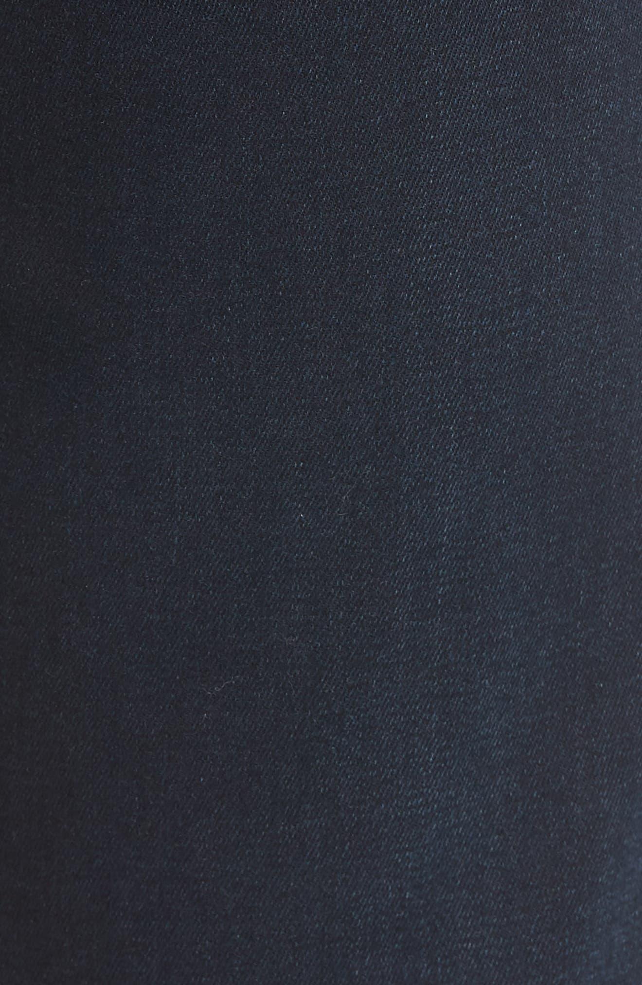 Cool Slim Straight Leg Jeans,                             Alternate thumbnail 5, color,                             MIDNIGHT AUSTIN