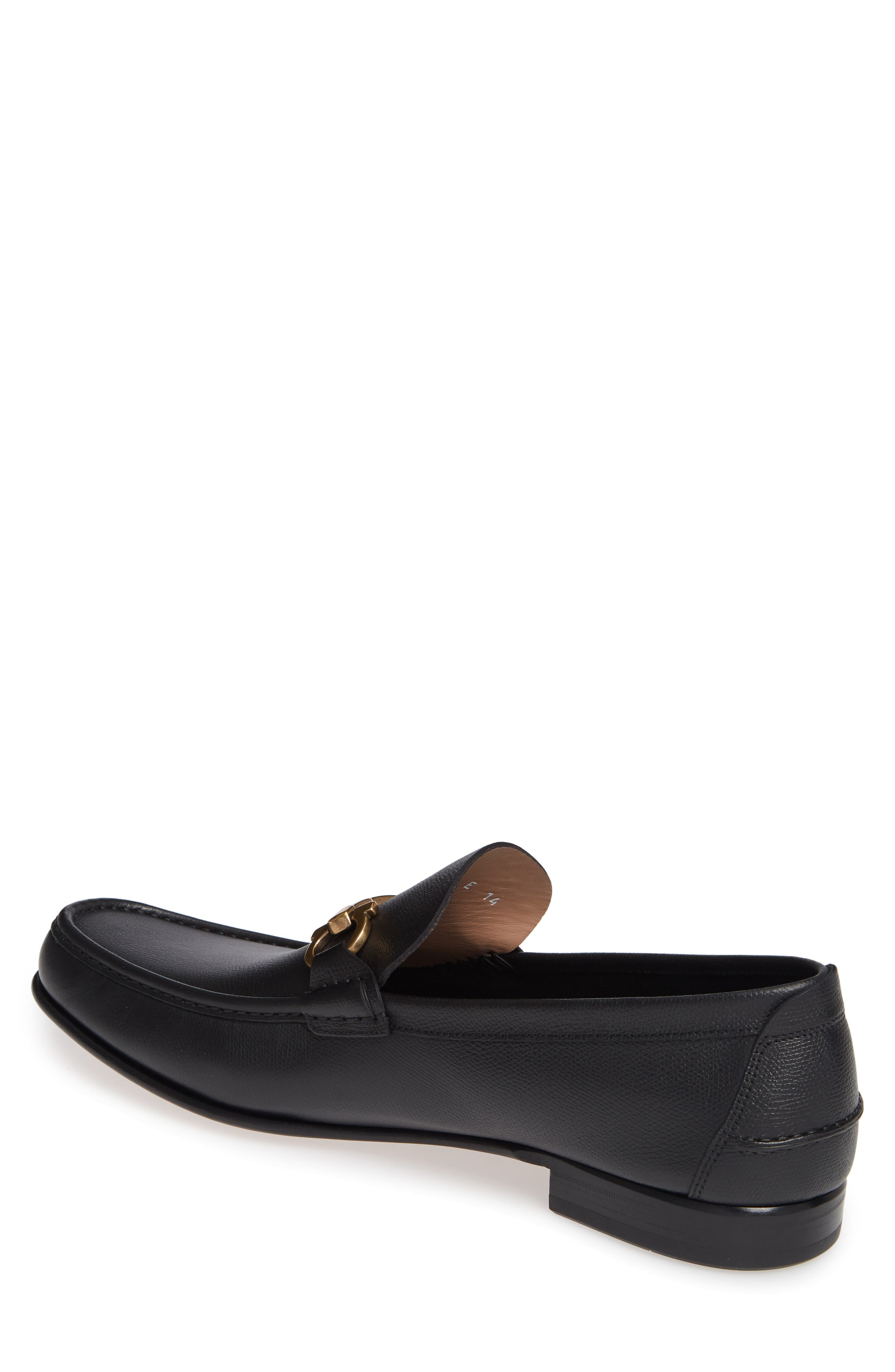 Fiordi Bit Loafer,                             Alternate thumbnail 2, color,                             NERO LEATHER