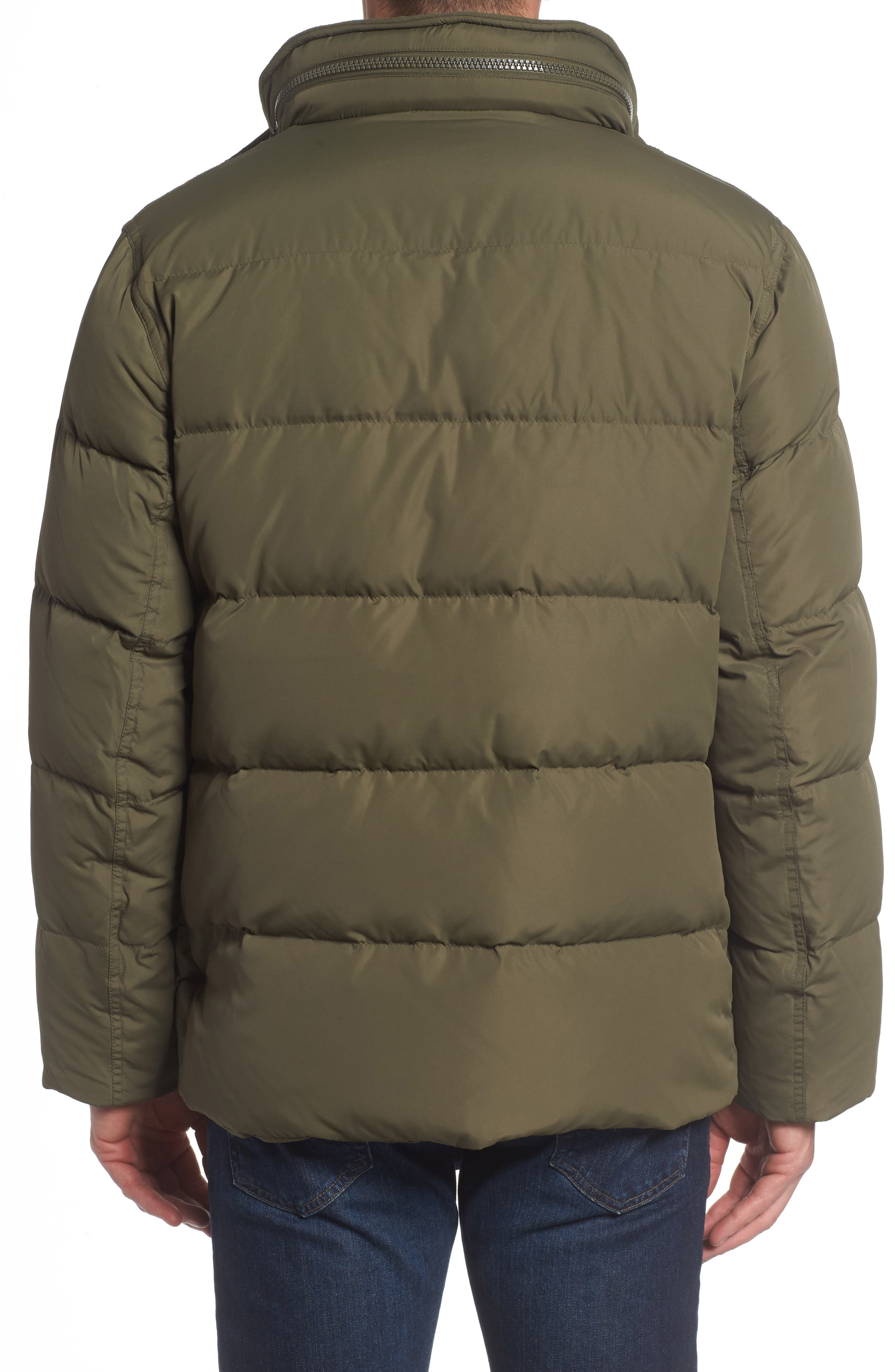 Andrew Marc Carlton Quilted Parka,                             Alternate thumbnail 7, color,