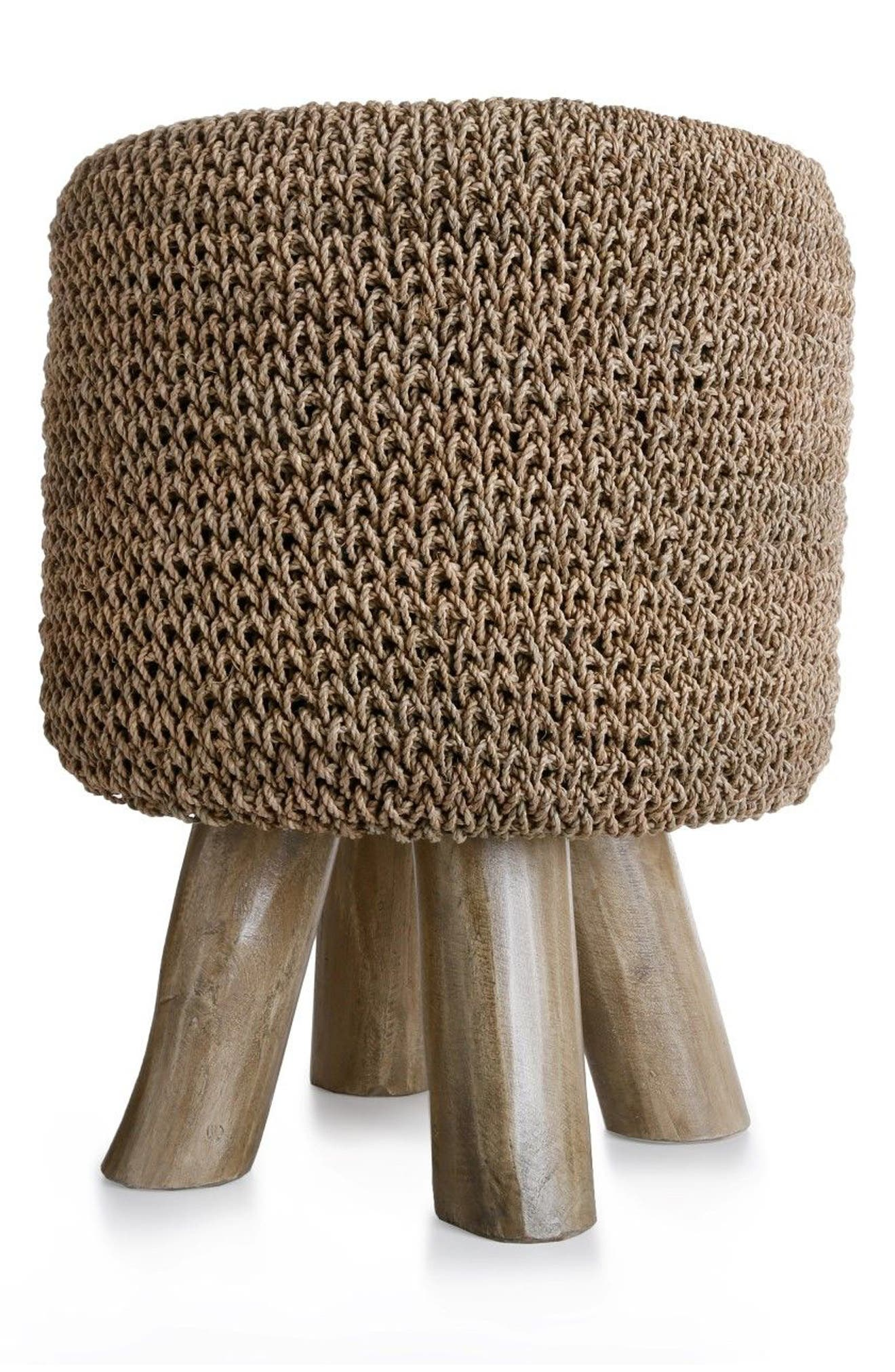 Woven Foot Stool,                         Main,                         color, 300