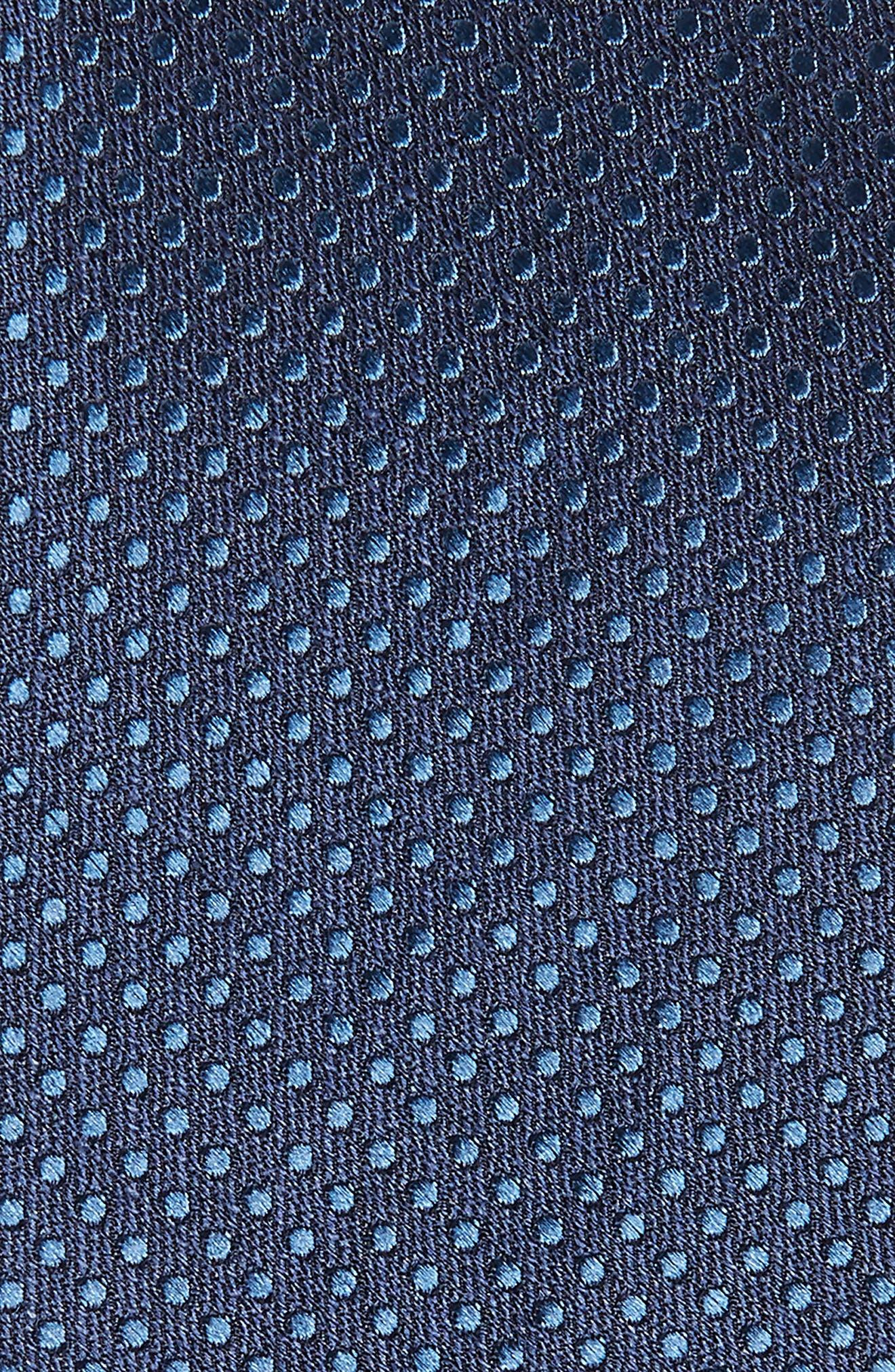 Dotten Dot Silk & Cotton Tie,                             Alternate thumbnail 5, color,