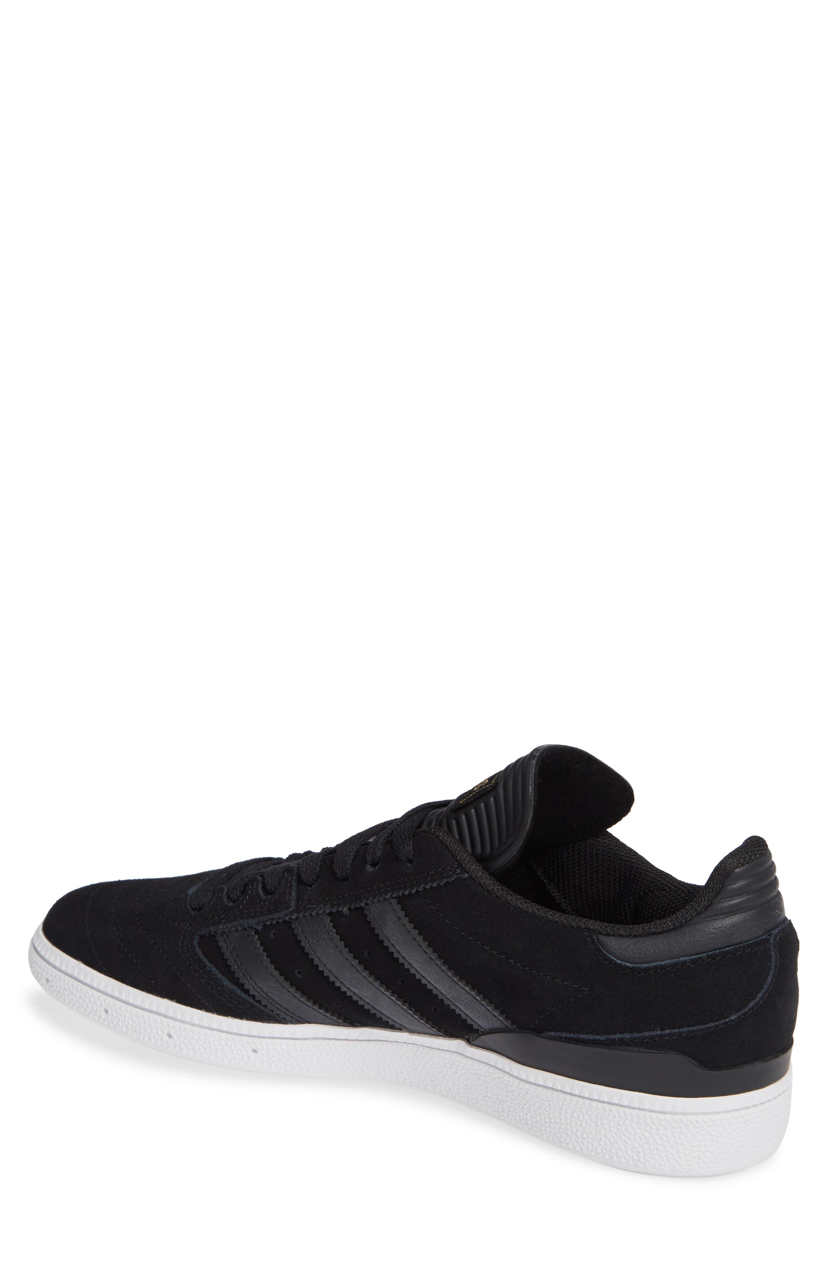 Busenitz Sneaker,                             Alternate thumbnail 2, color,                             BLACK/ BLACK/ WHITE