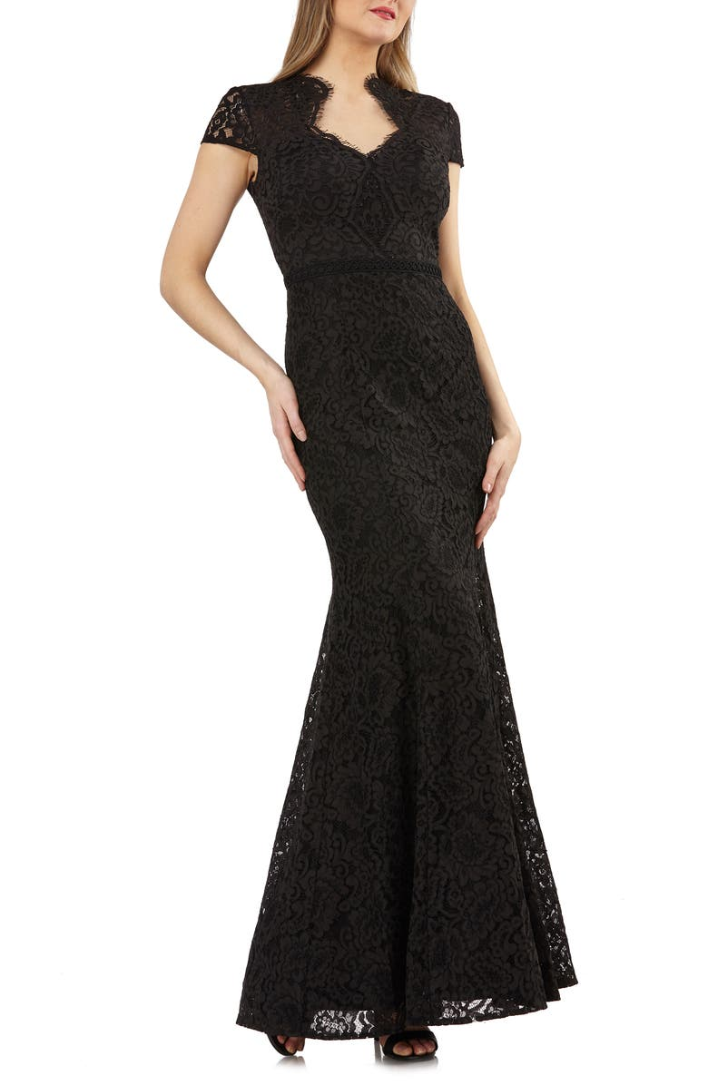 JS Collections Lace Mermaid Gown | Nordstrom