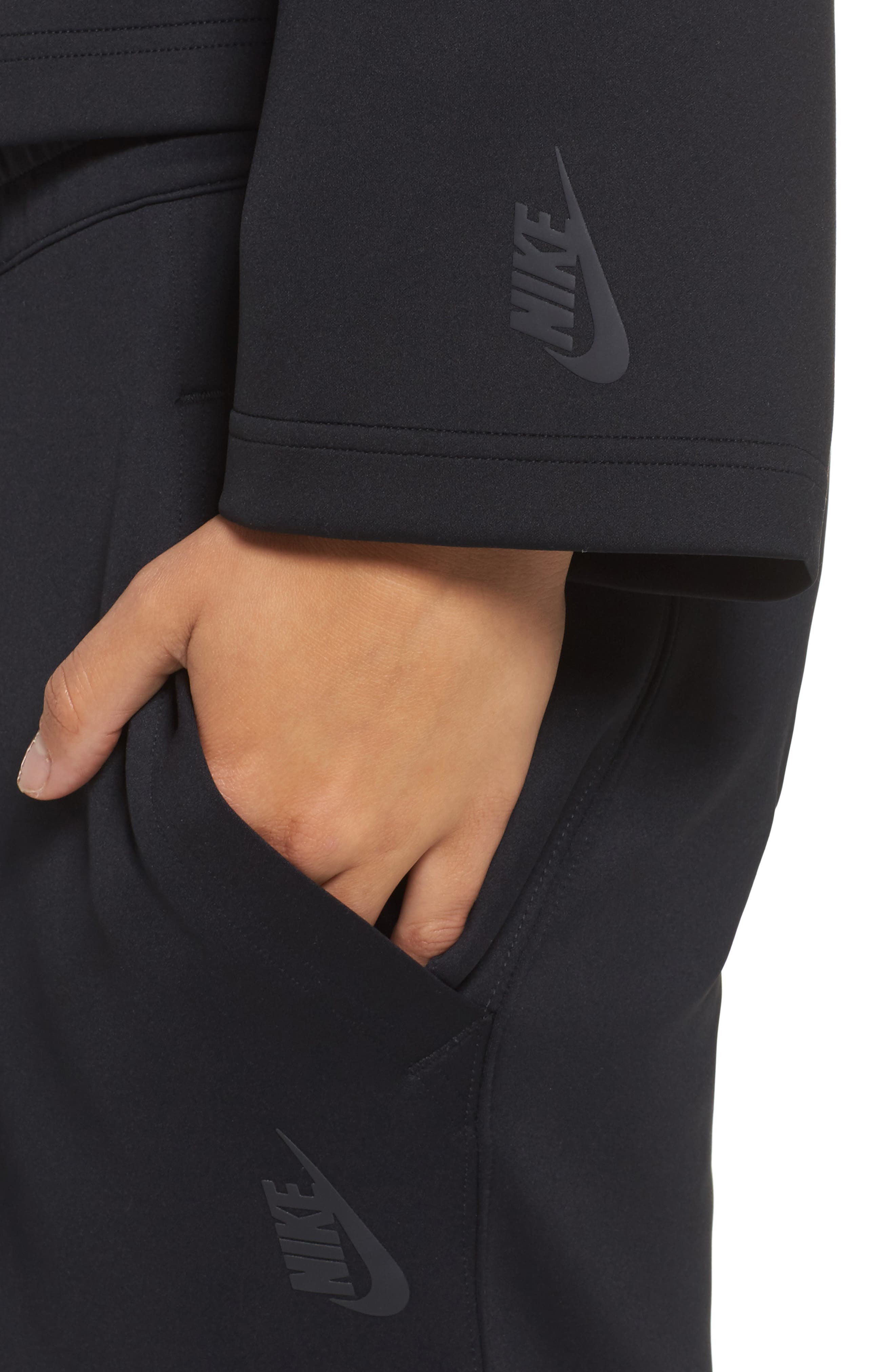 NikeLab Essentials Women's Fleece Top,                             Alternate thumbnail 8, color,