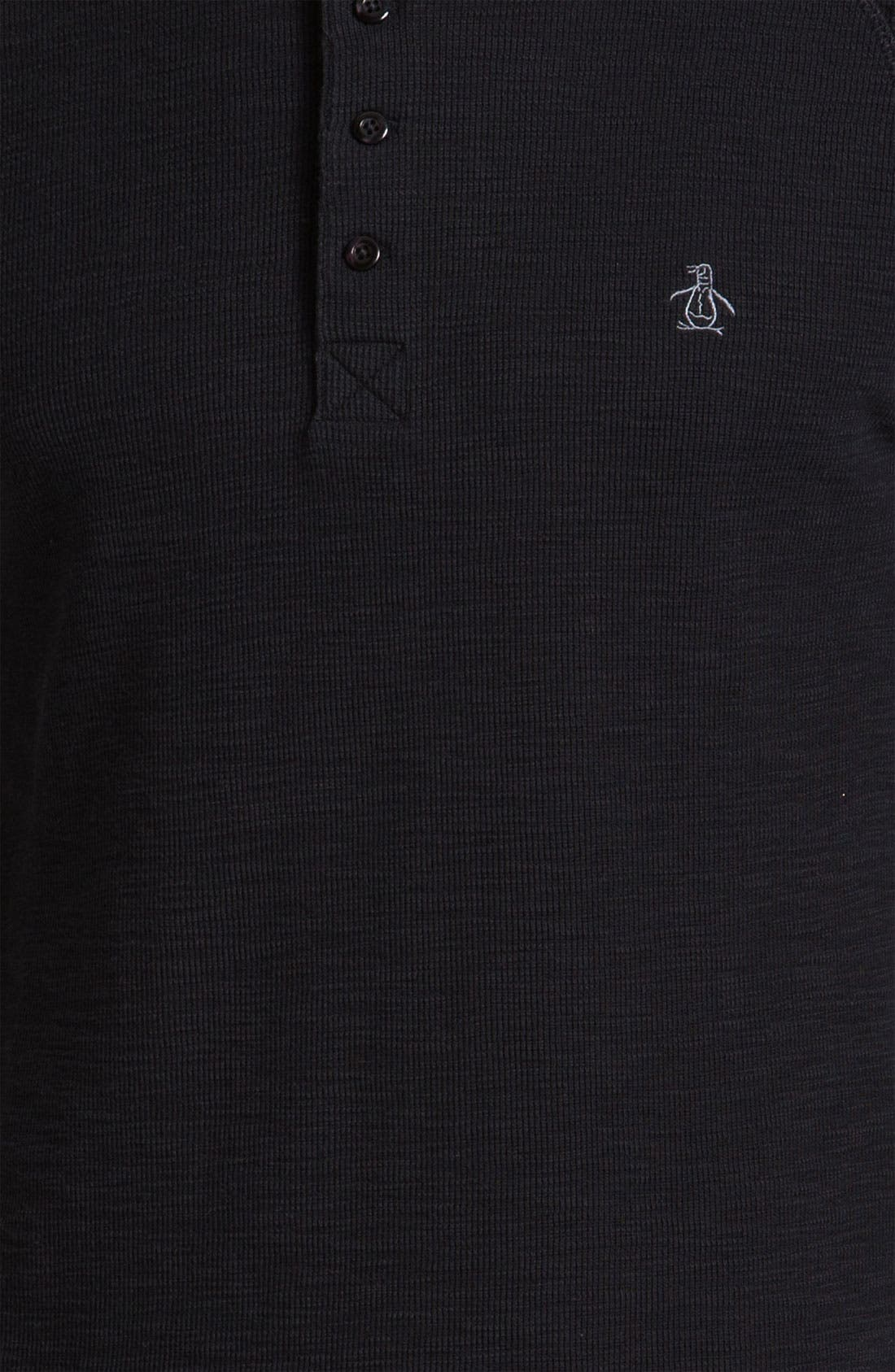 Thermal Cotton Henley,                             Alternate thumbnail 2, color,                             010