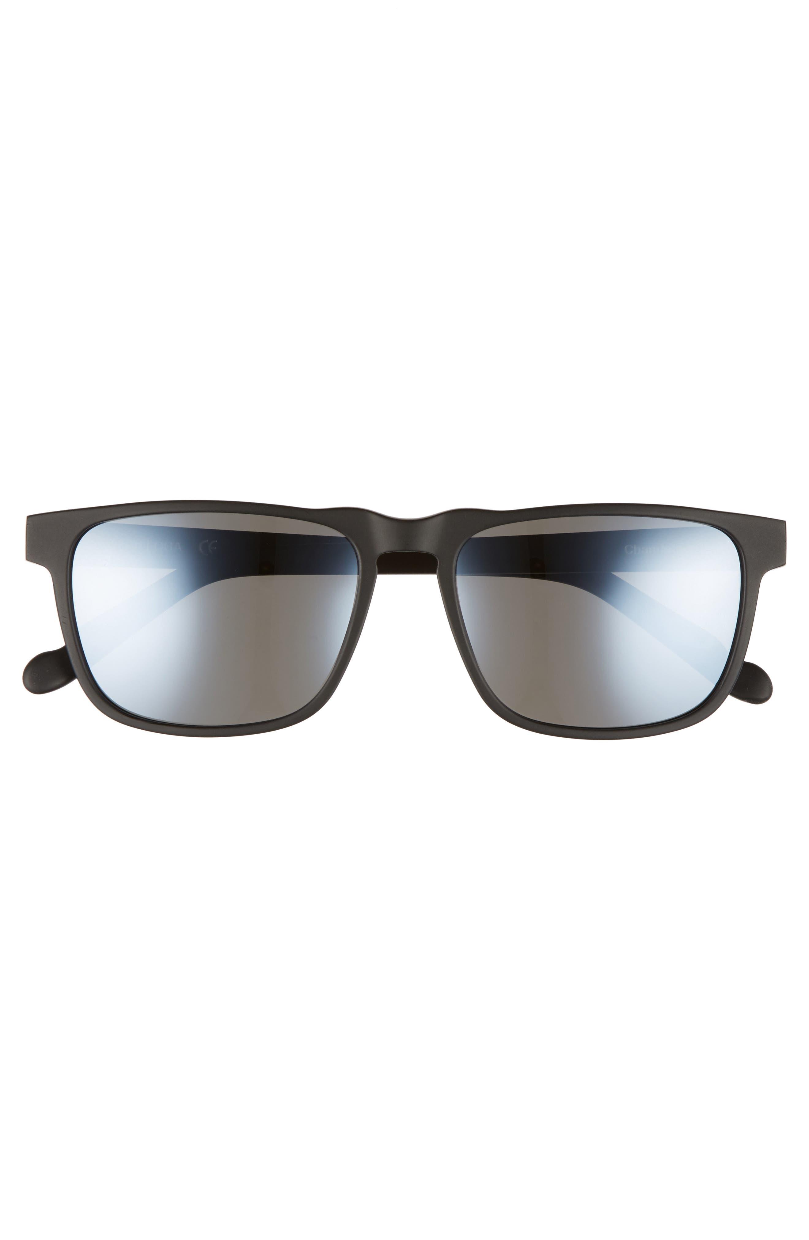 Chandeleur 59mm Polarized Aviator Sunglasses,                             Alternate thumbnail 3, color,                             020