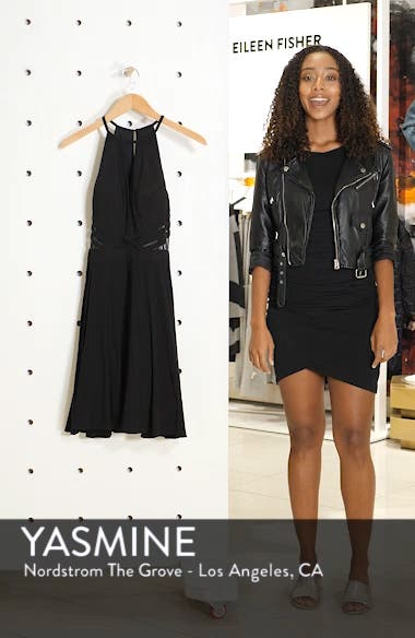 Stripe Waist Party Dress, sales video thumbnail