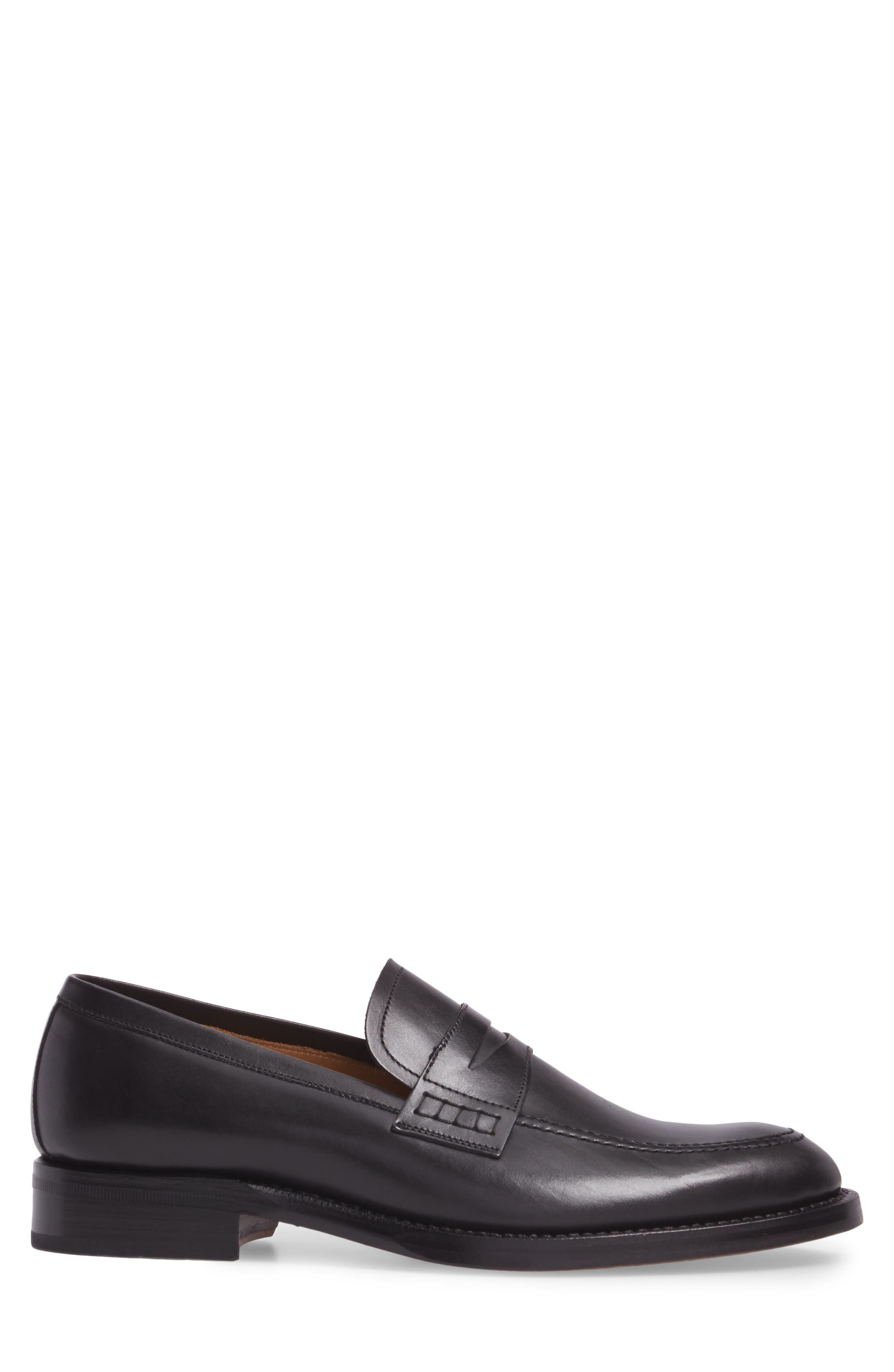 Archie Penny Loafer,                             Alternate thumbnail 3, color,                             001