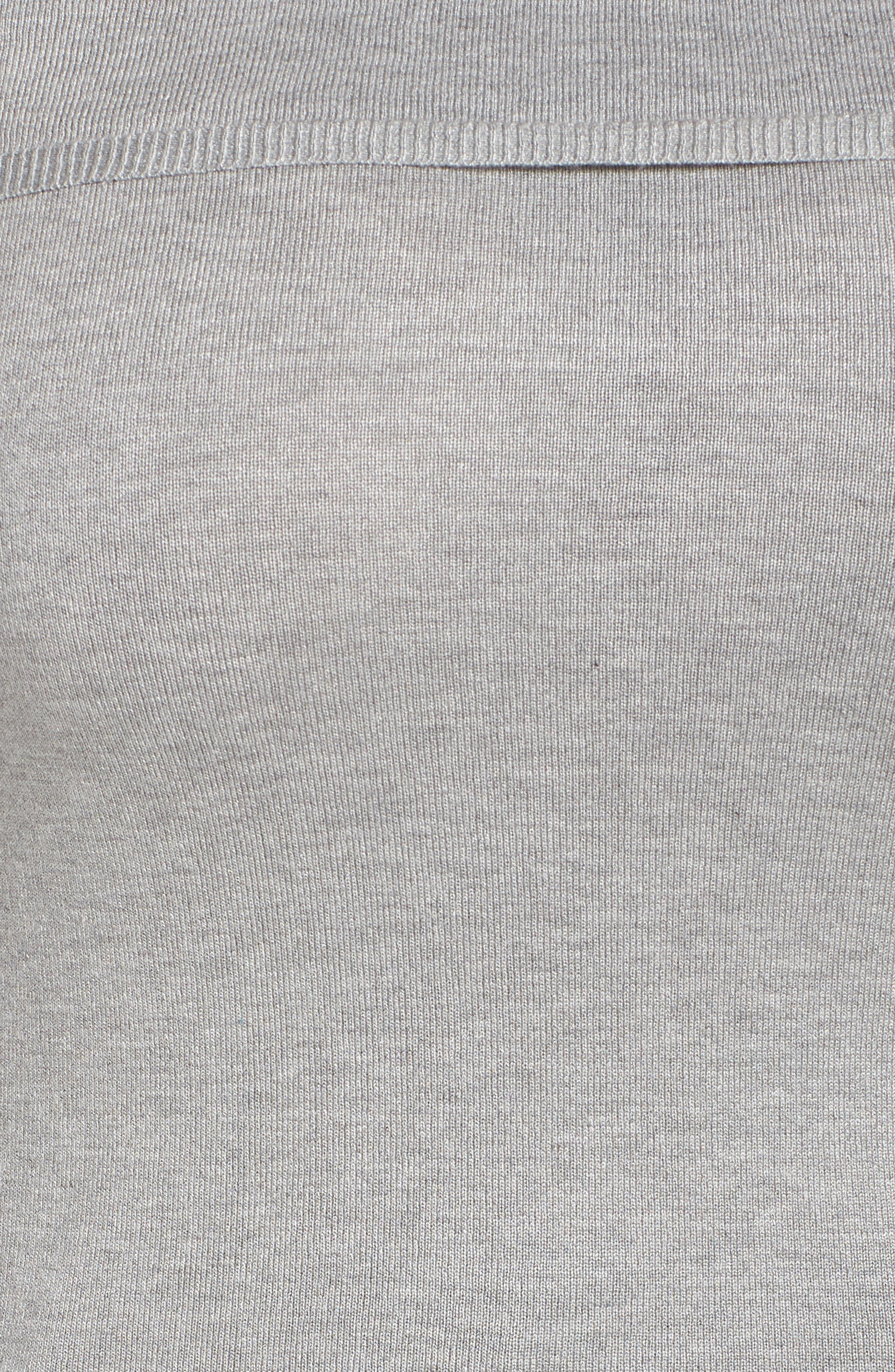 Cold Shoulder Sweater,                             Alternate thumbnail 5, color,                             020