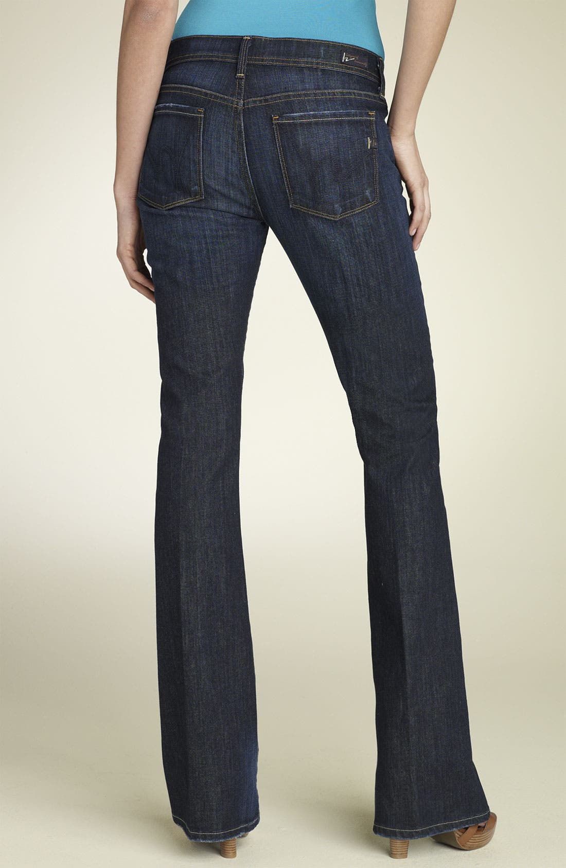 'Ingrid' Stretch Jeans, Main, color, 404
