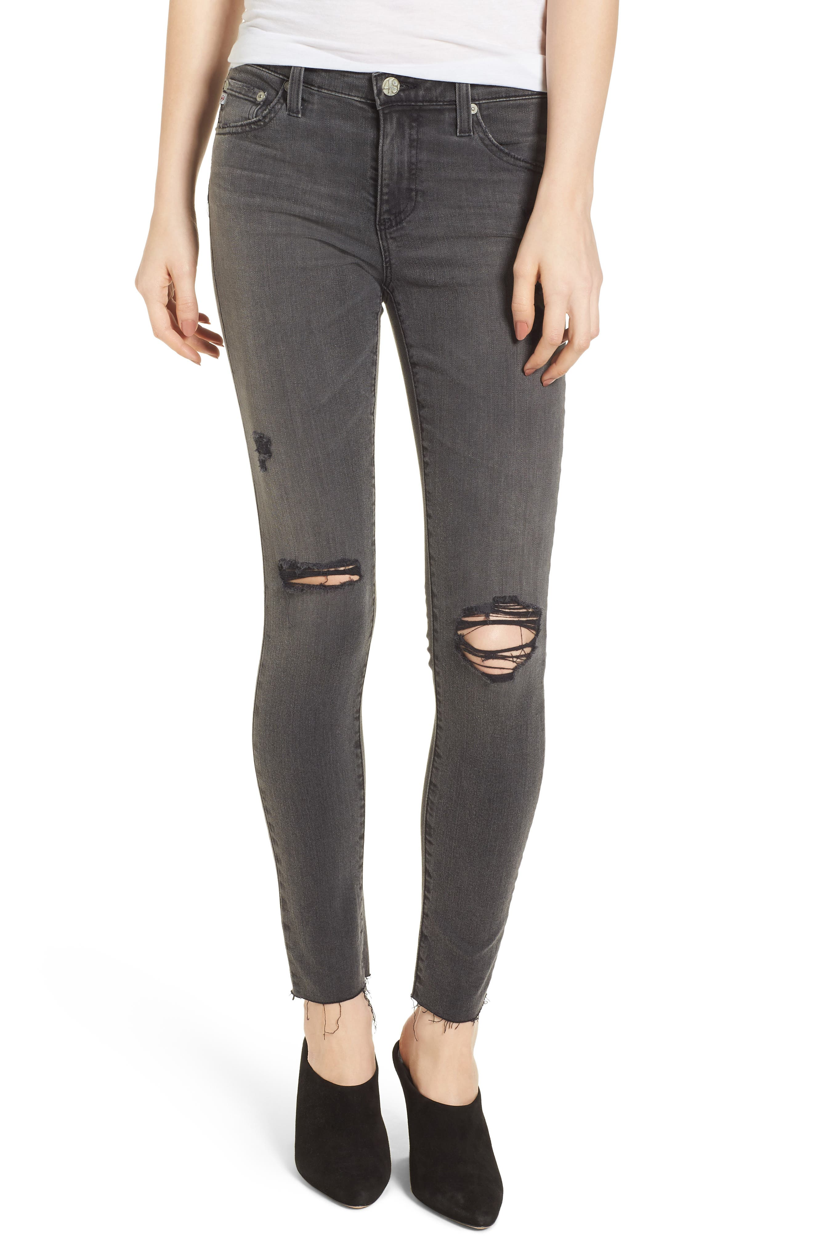 The Legging Super Skinny Jeans,                         Main,                         color, 10 YEARS-STONE ASH