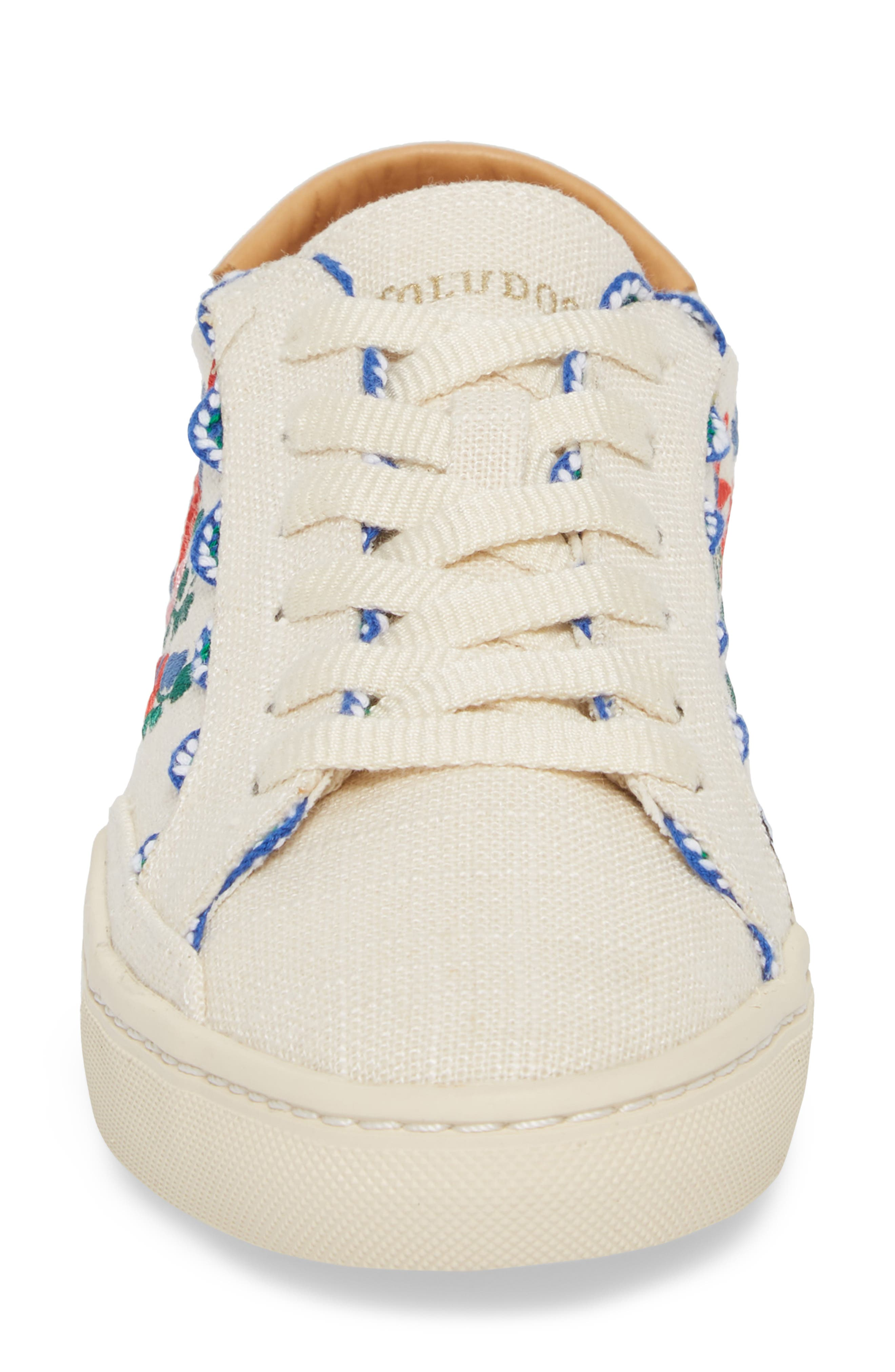 Ibiza Embroidered Sneaker,                             Alternate thumbnail 4, color,                             680