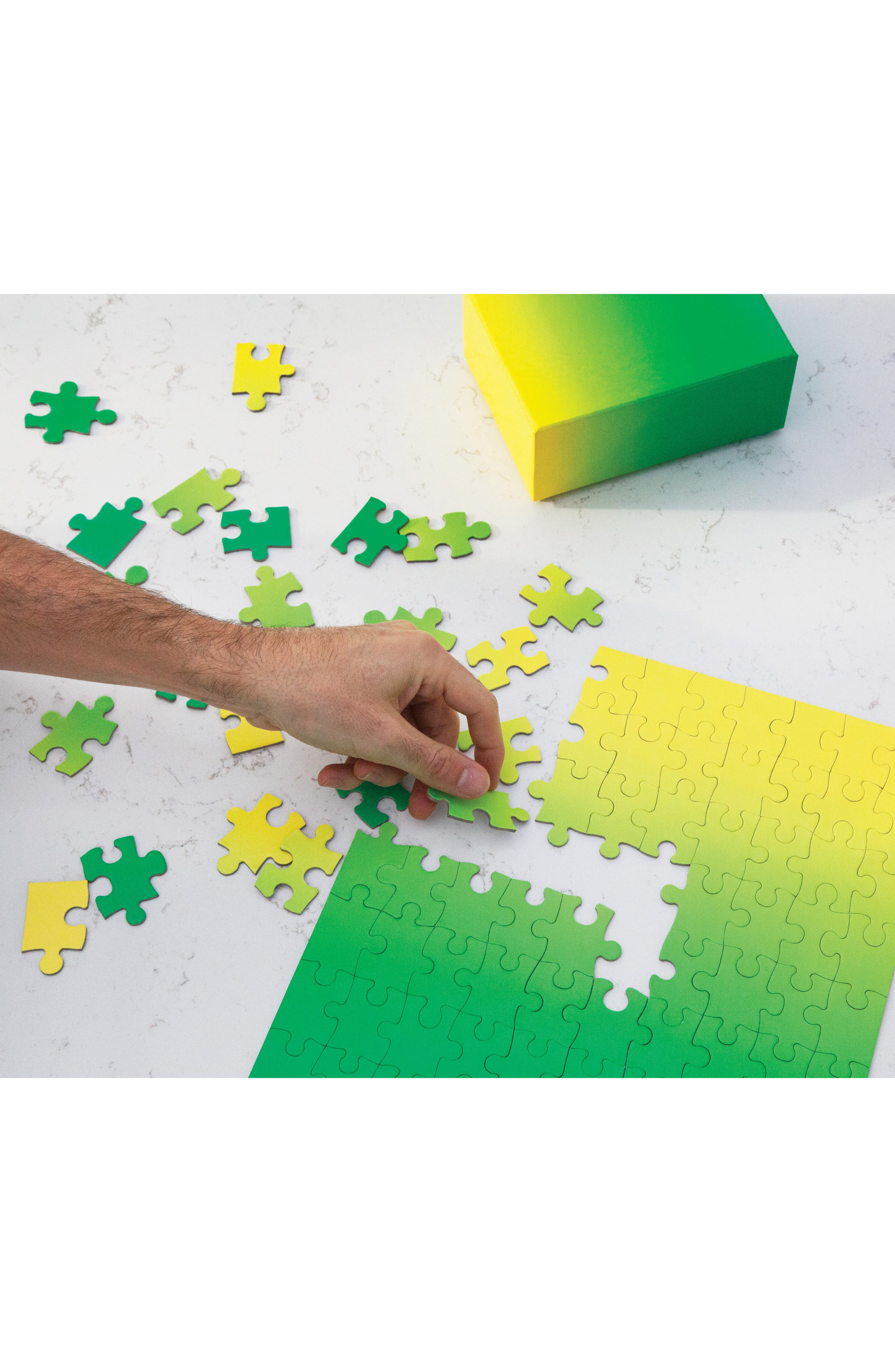Small Gradient Jigsaw Puzzle,                             Alternate thumbnail 3, color,                             300