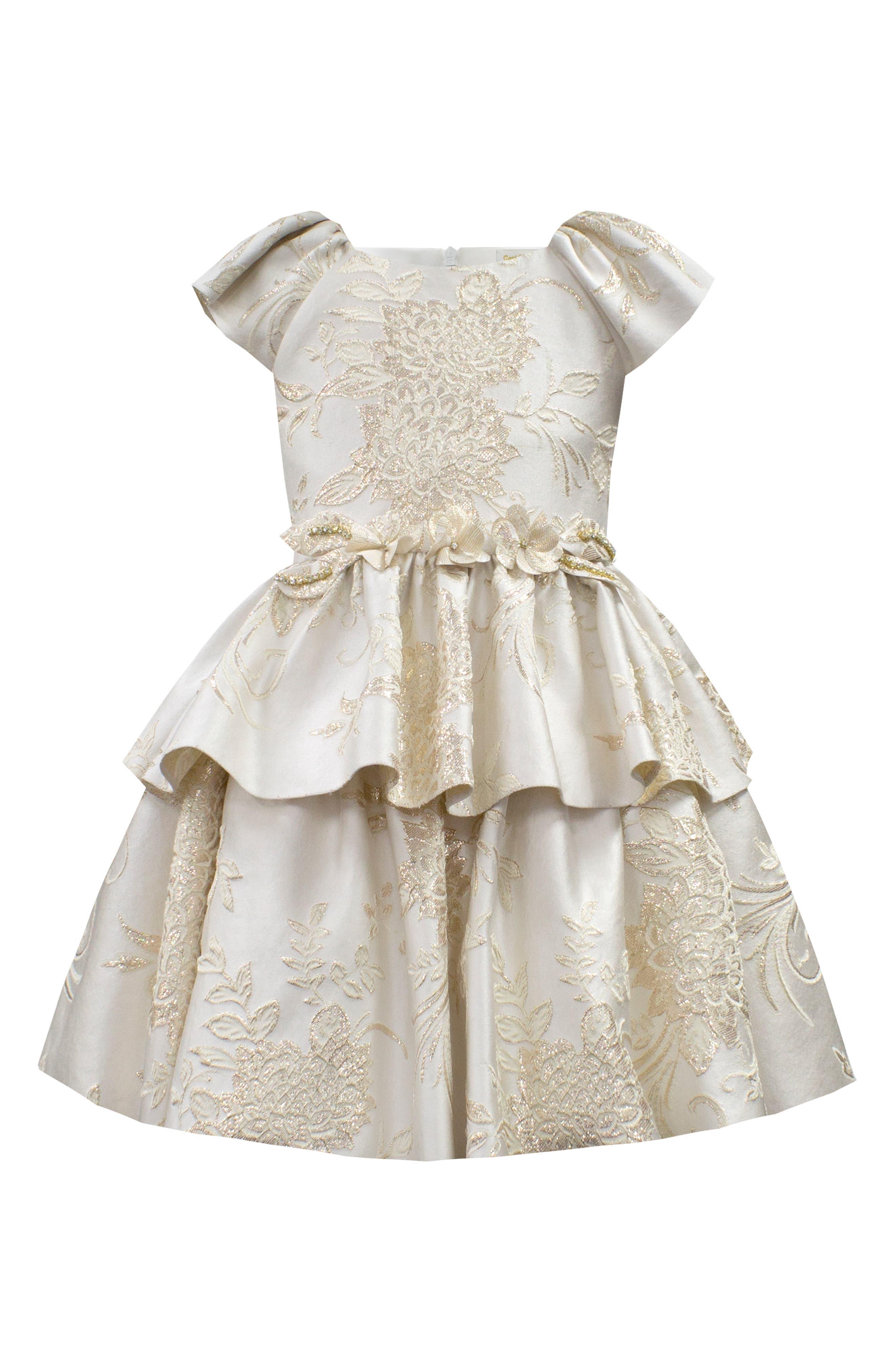 Brocade Dress,                             Main thumbnail 1, color,                             900