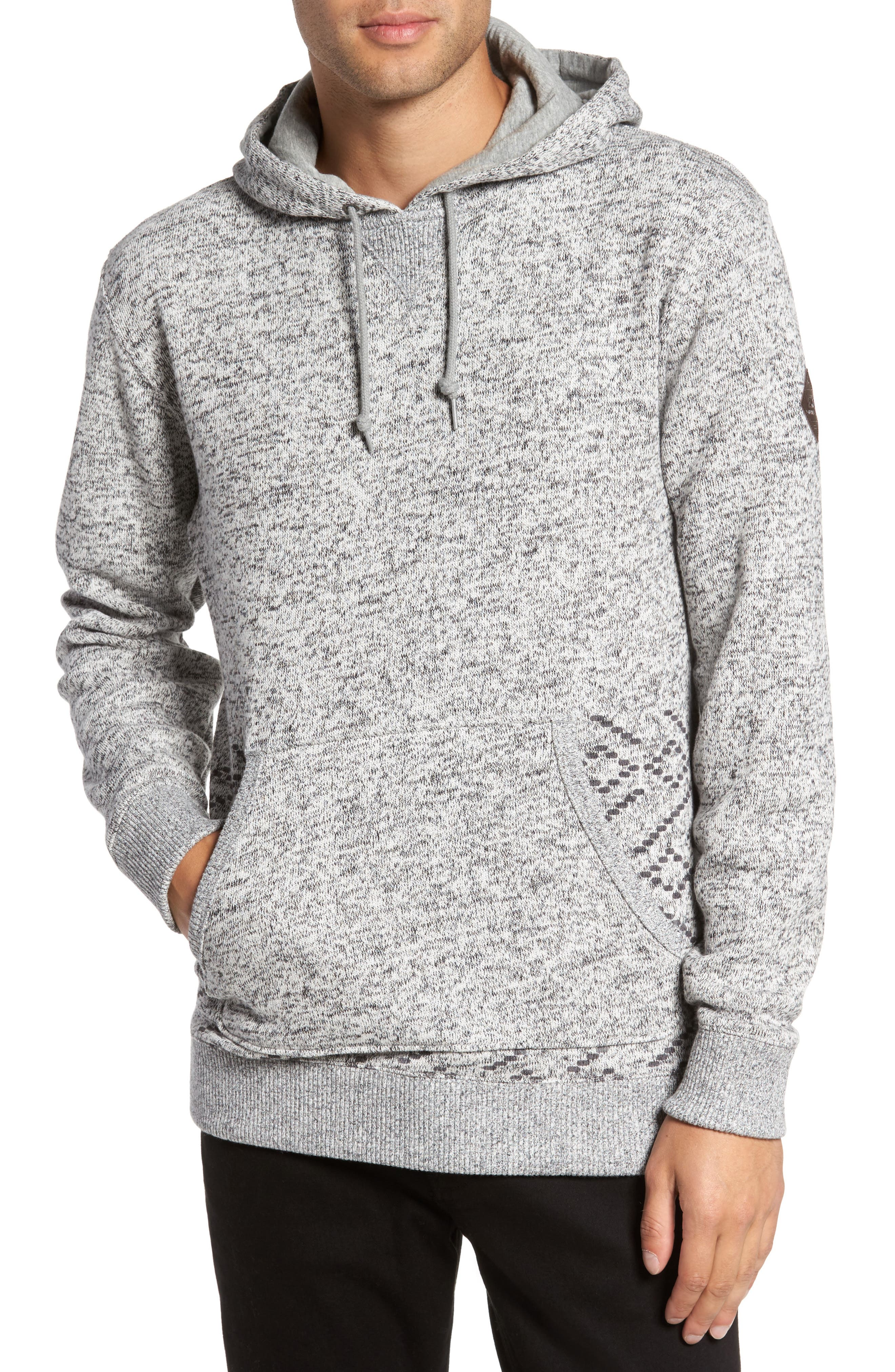 Brookstone Geo Print Hoodie,                             Main thumbnail 1, color,                             020