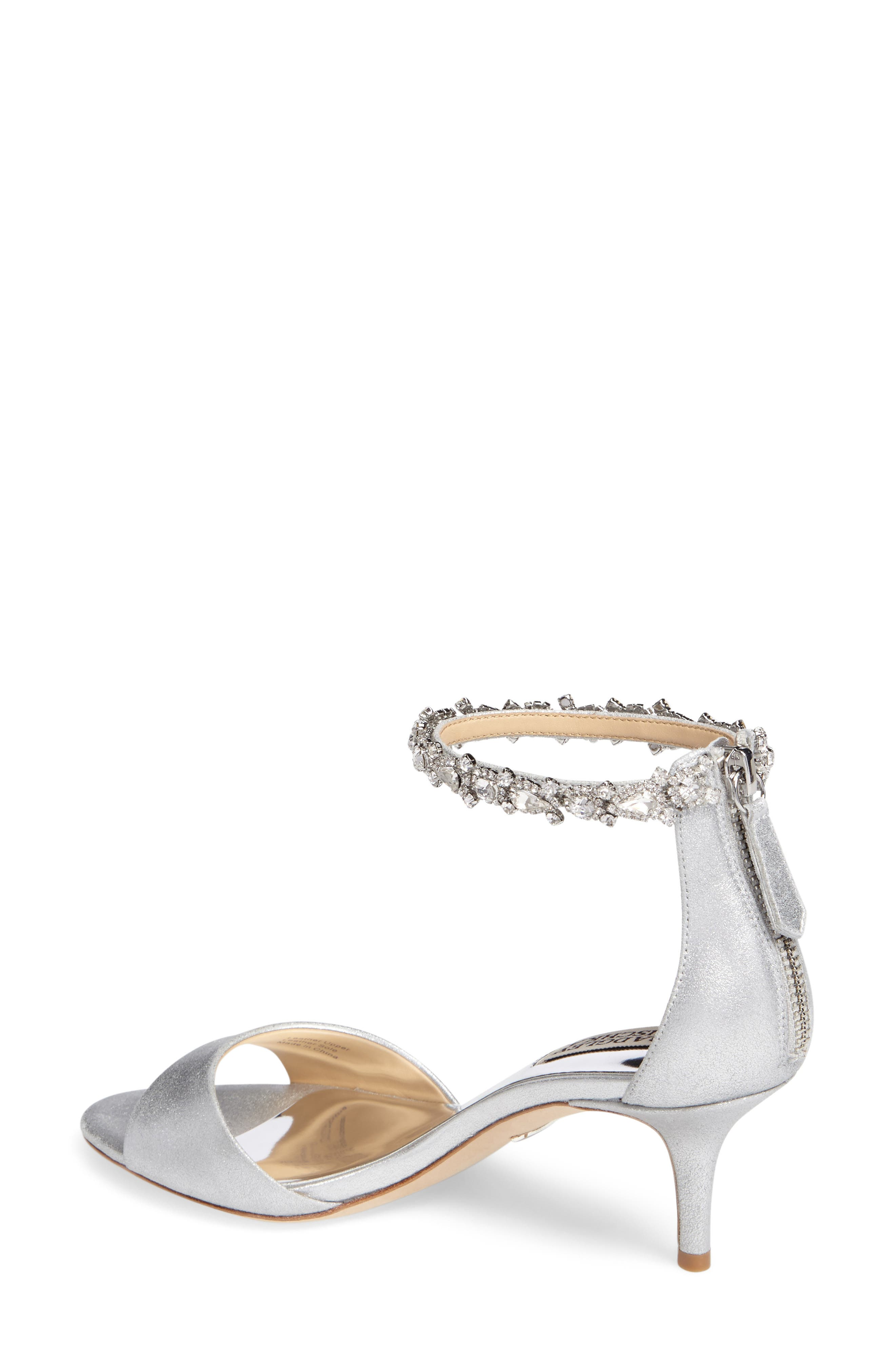 Geranium Embellished Sandal,                             Alternate thumbnail 8, color,