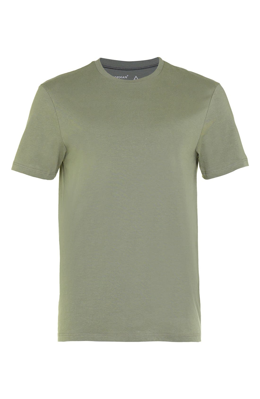Slim Fit Crewneck T-Shirt,                             Alternate thumbnail 150, color,