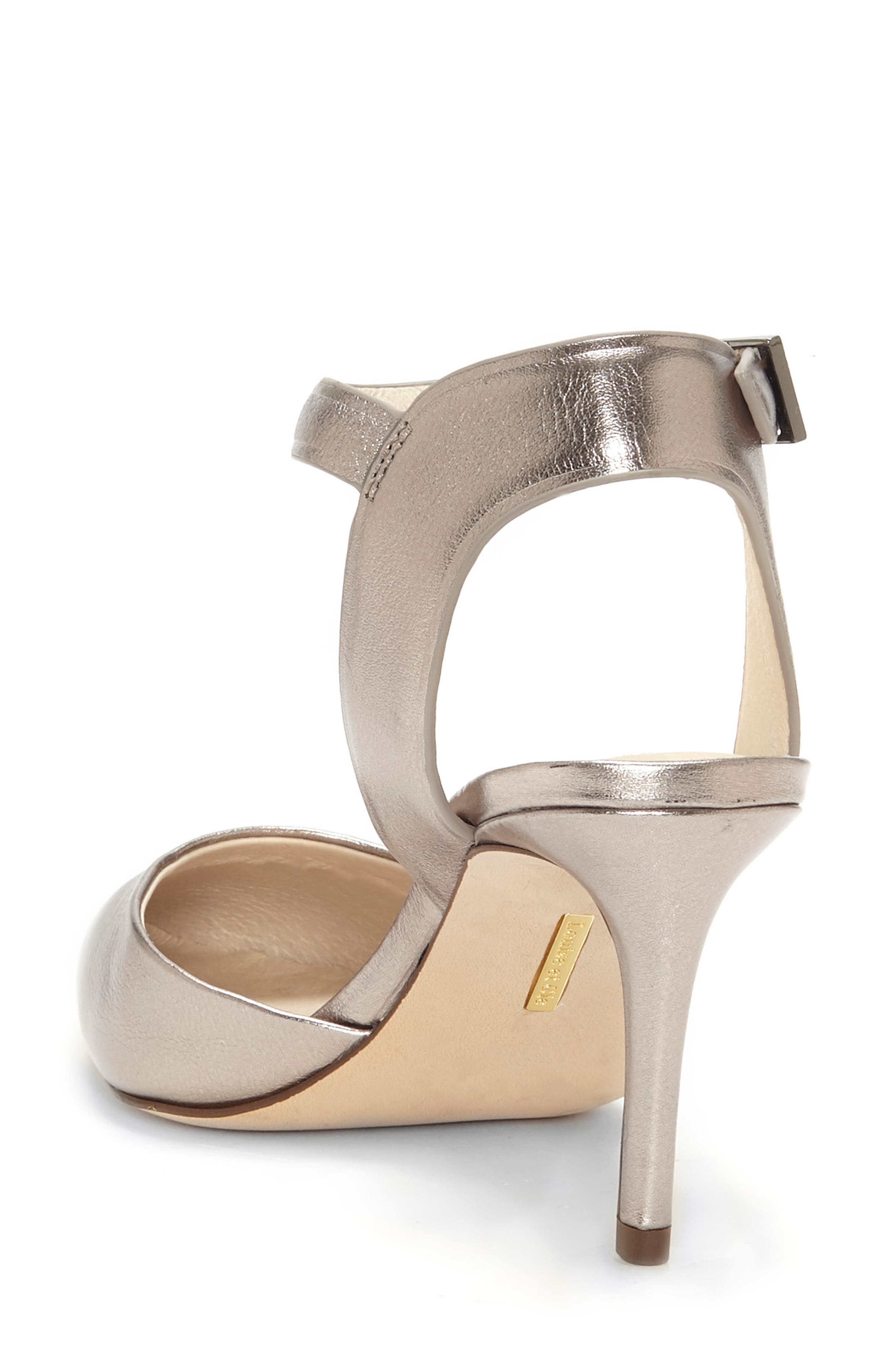 Kota Ankle Strap Pump,                             Alternate thumbnail 2, color,                             PETROL METALLIC