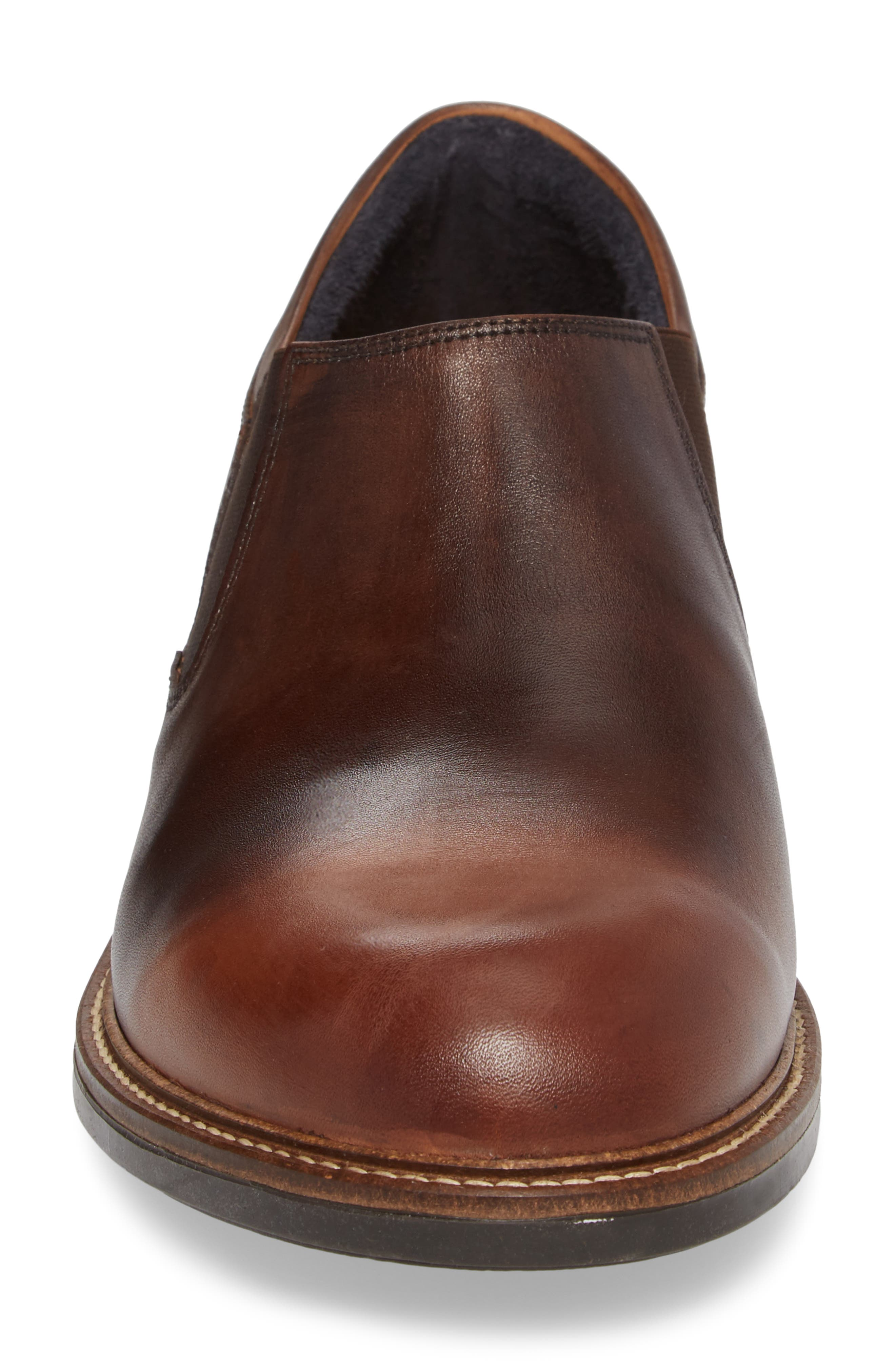 Director Venetian Loafer,                             Alternate thumbnail 4, color,                             BROWN GRADIENT LEATHER
