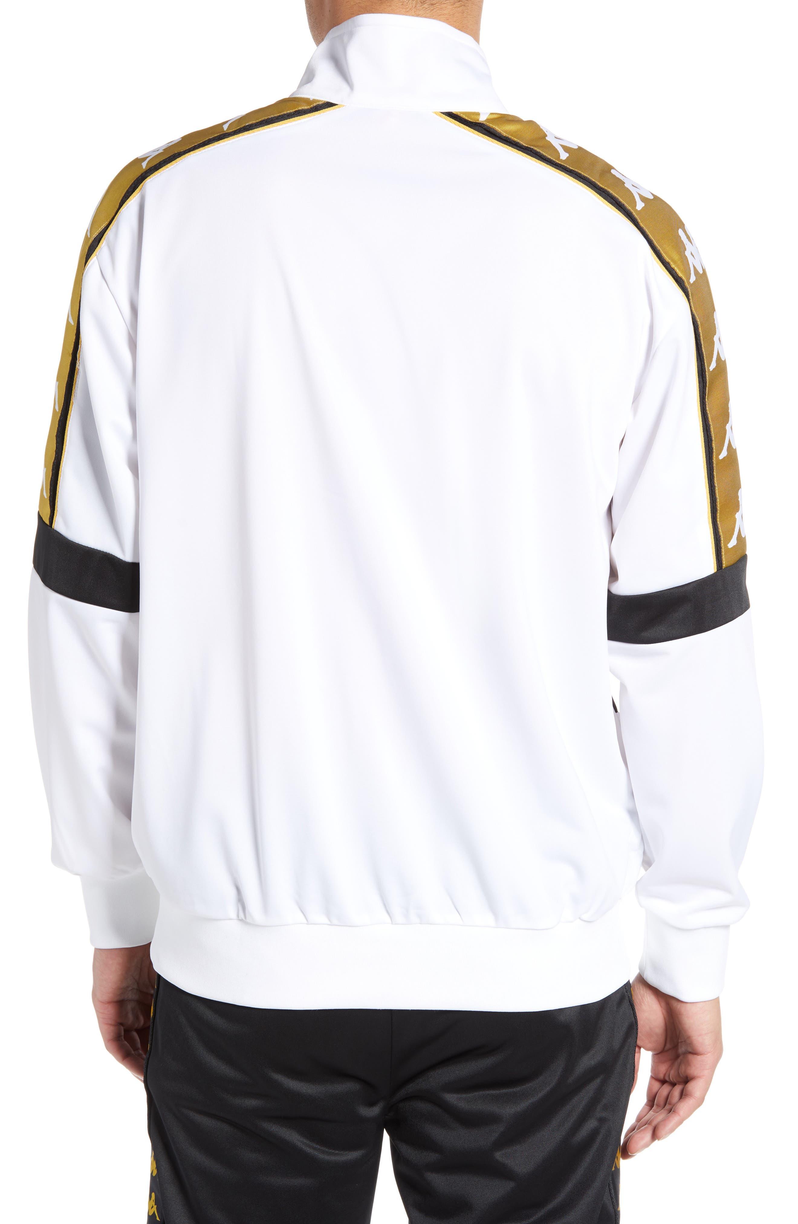 Banda 10 Artan Quarter Snap Pullover,                             Alternate thumbnail 2, color,                             WHITE YELLOW GOLD