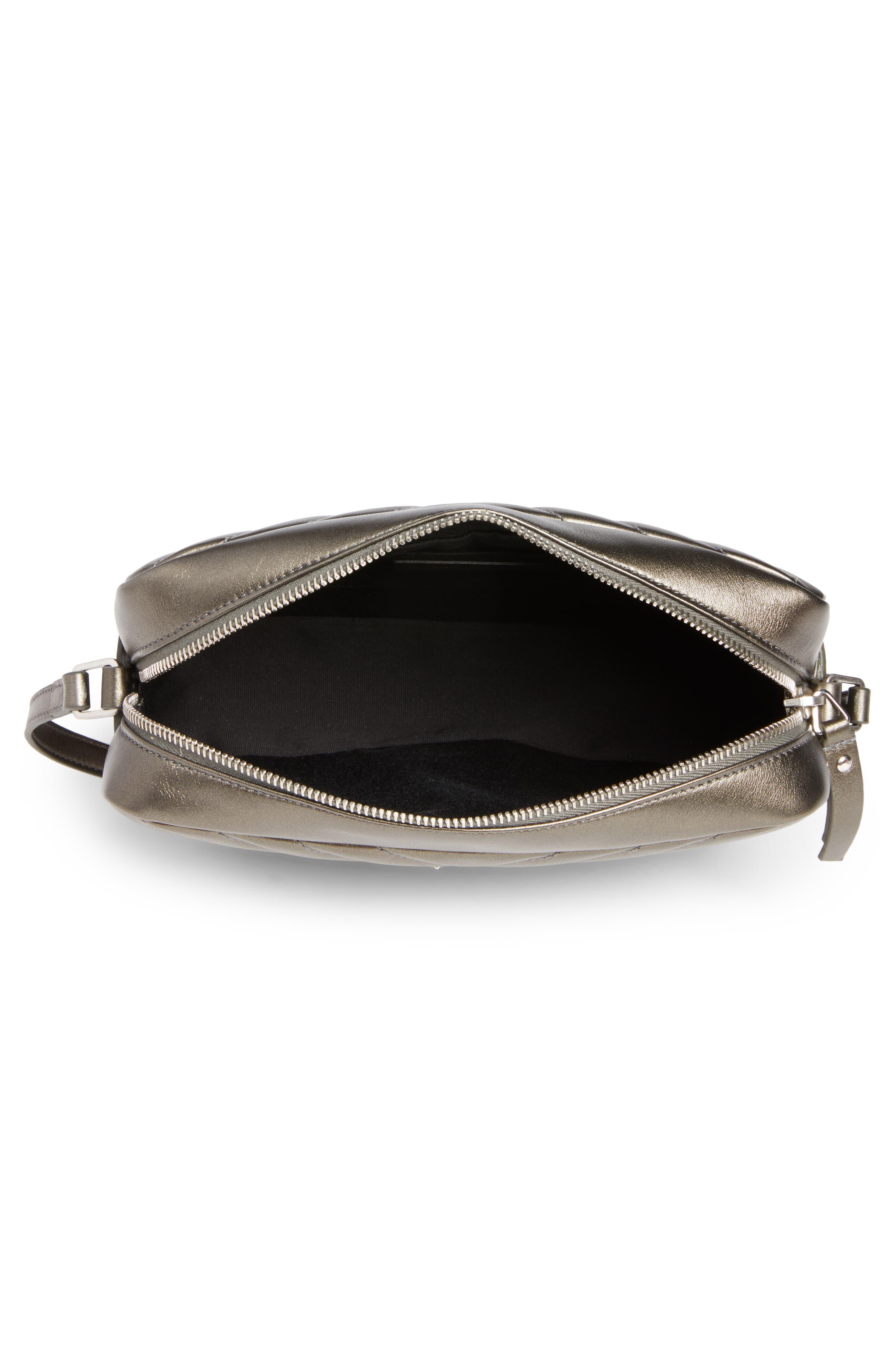 Medium Lou Calfskin Leather Camera Bag,                             Alternate thumbnail 4, color,                             020