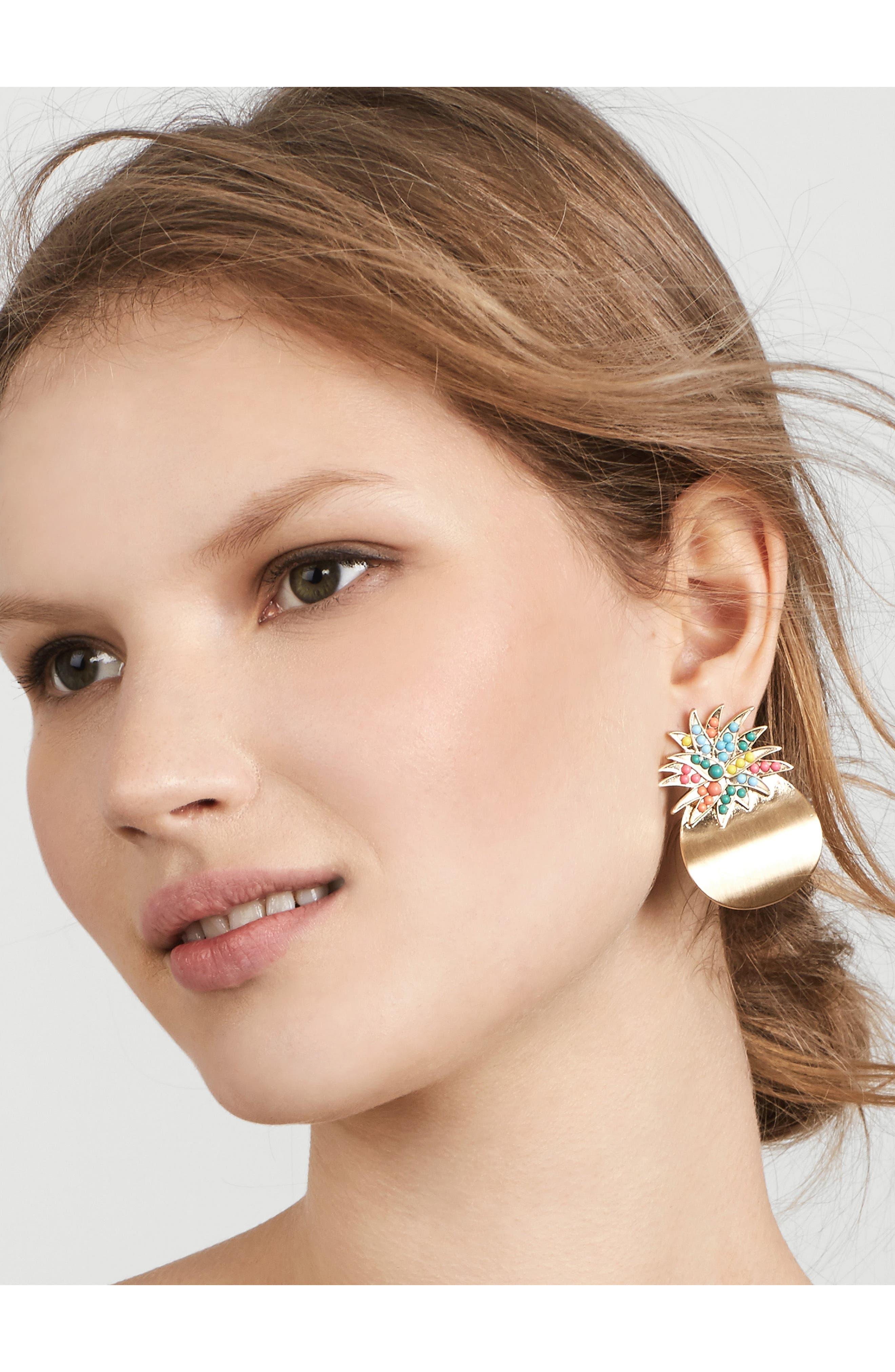 Mai Tai Stud Earrings,                             Alternate thumbnail 2, color,                             710