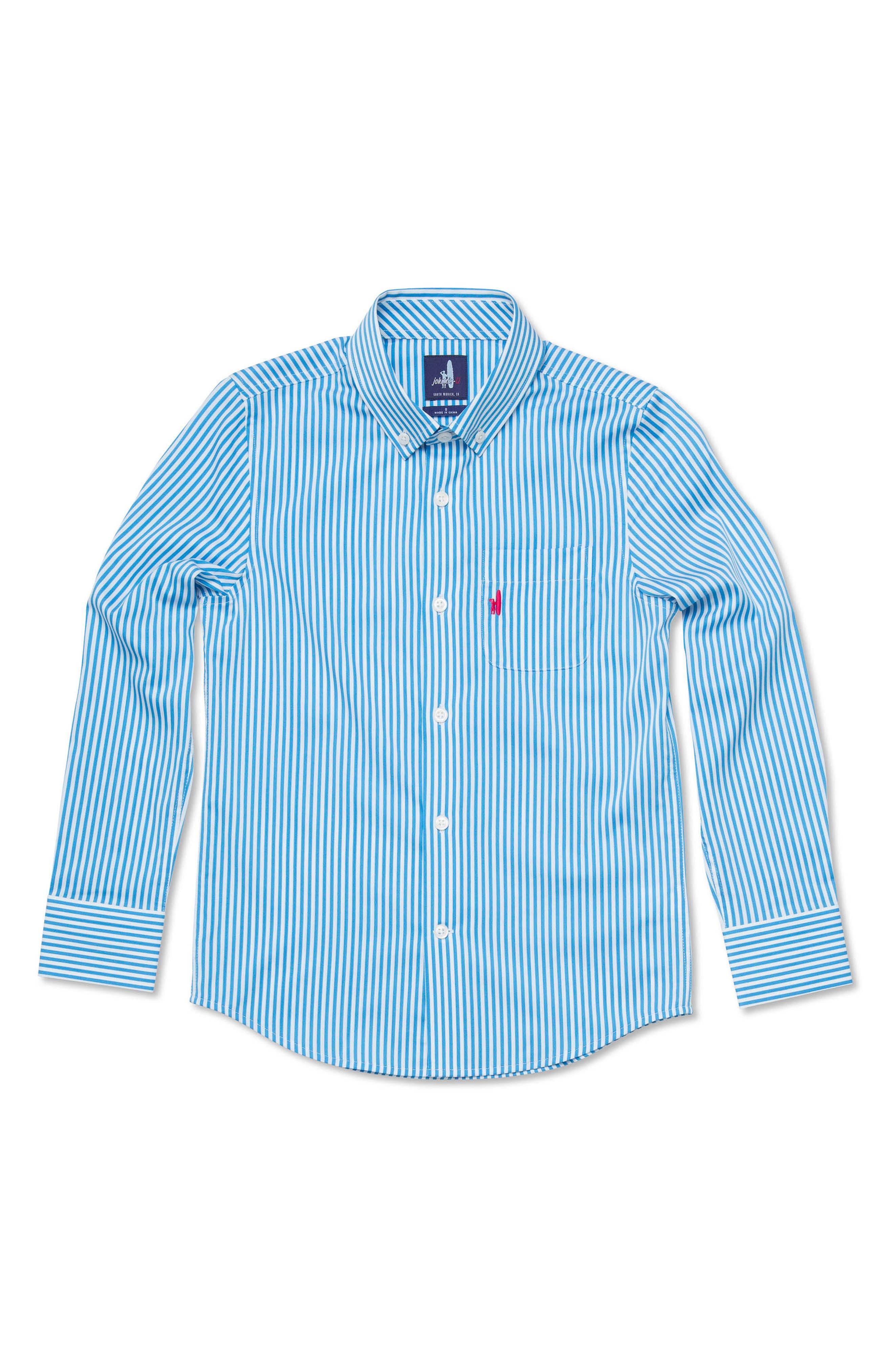 Nole Striped Dress Shirt,                         Main,                         color, 465