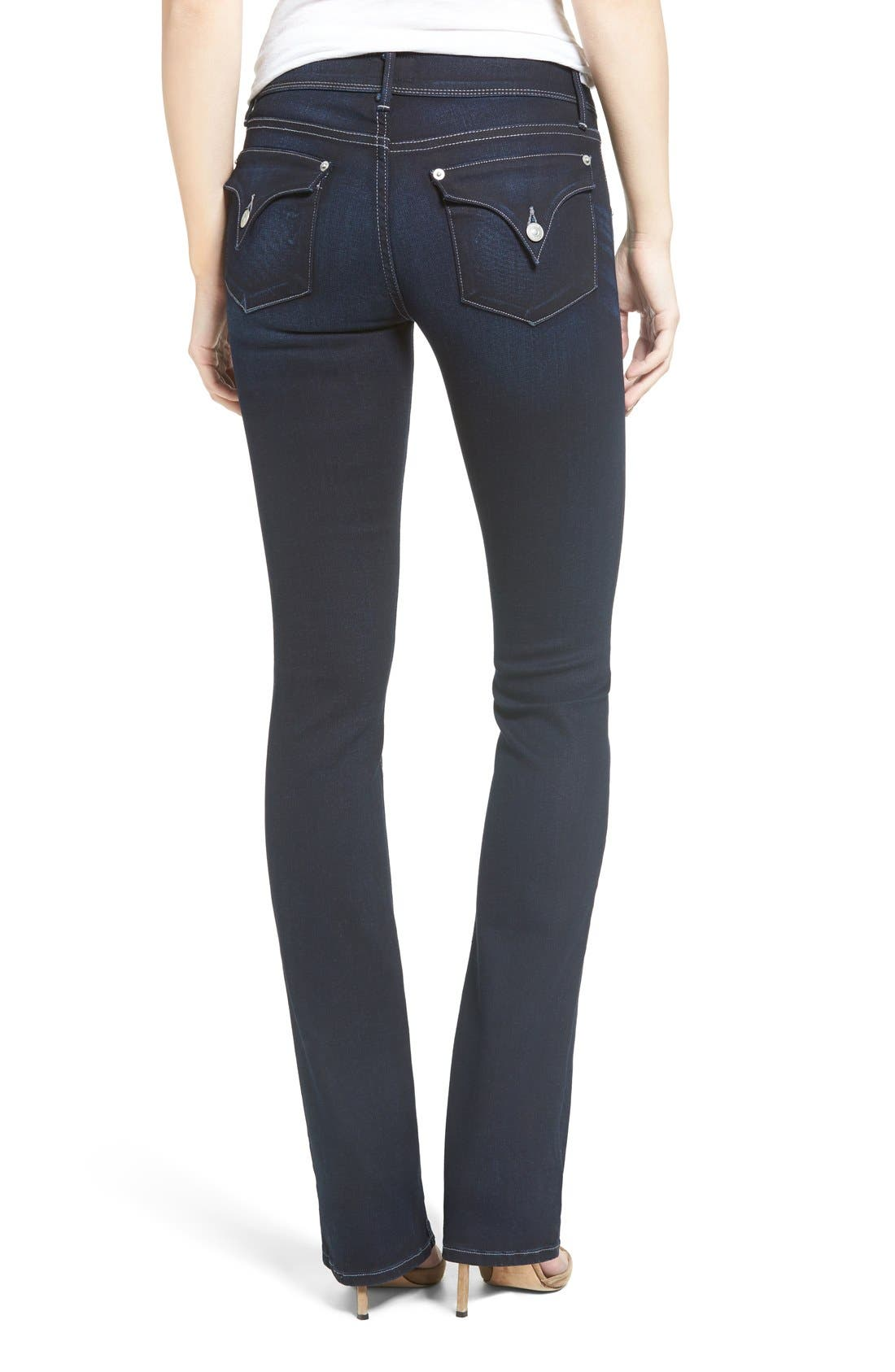 'Beth' Baby Bootcut Jeans,                             Alternate thumbnail 2, color,                             402
