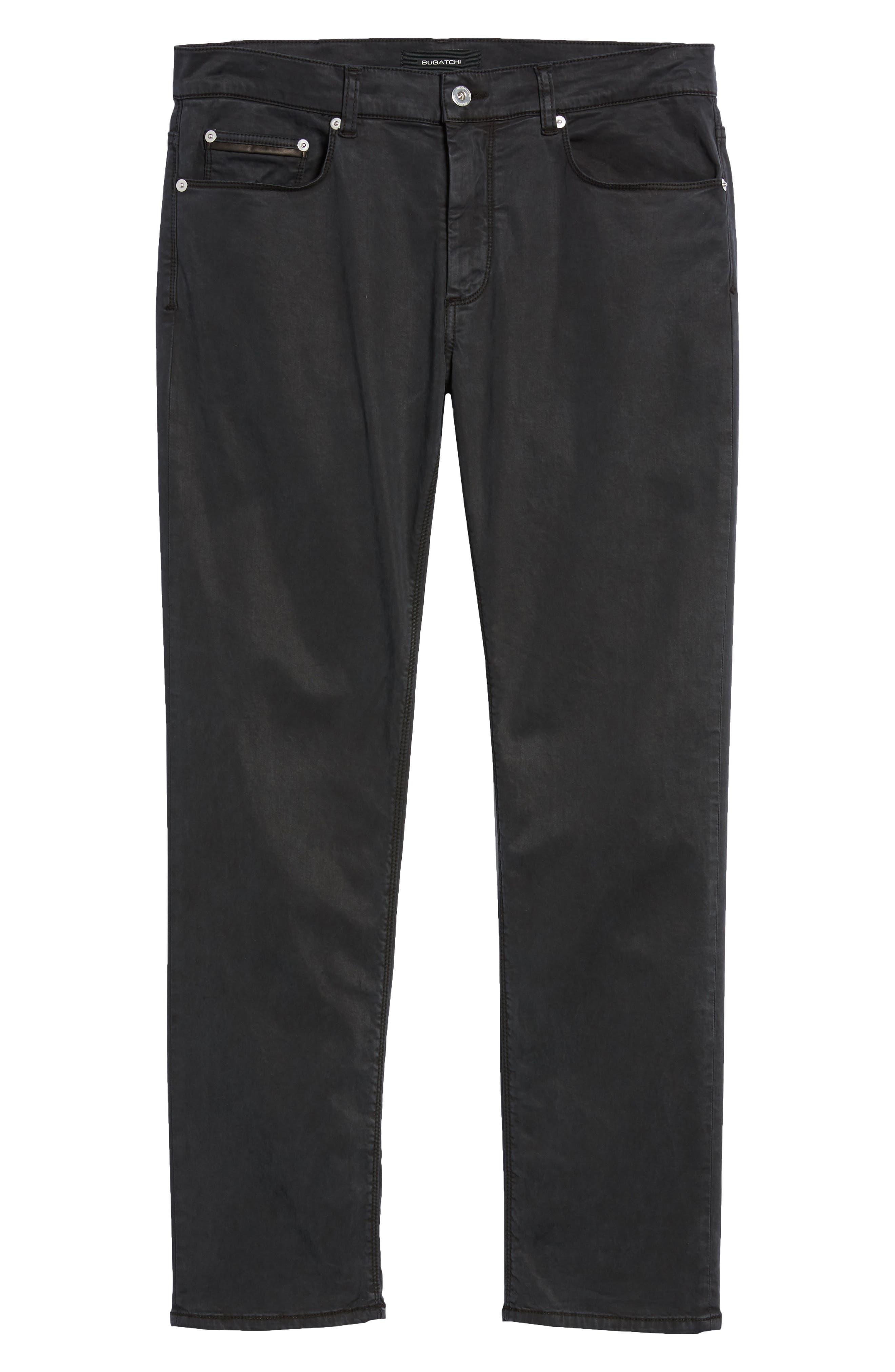Trim Fit Pants,                             Alternate thumbnail 6, color,                             001