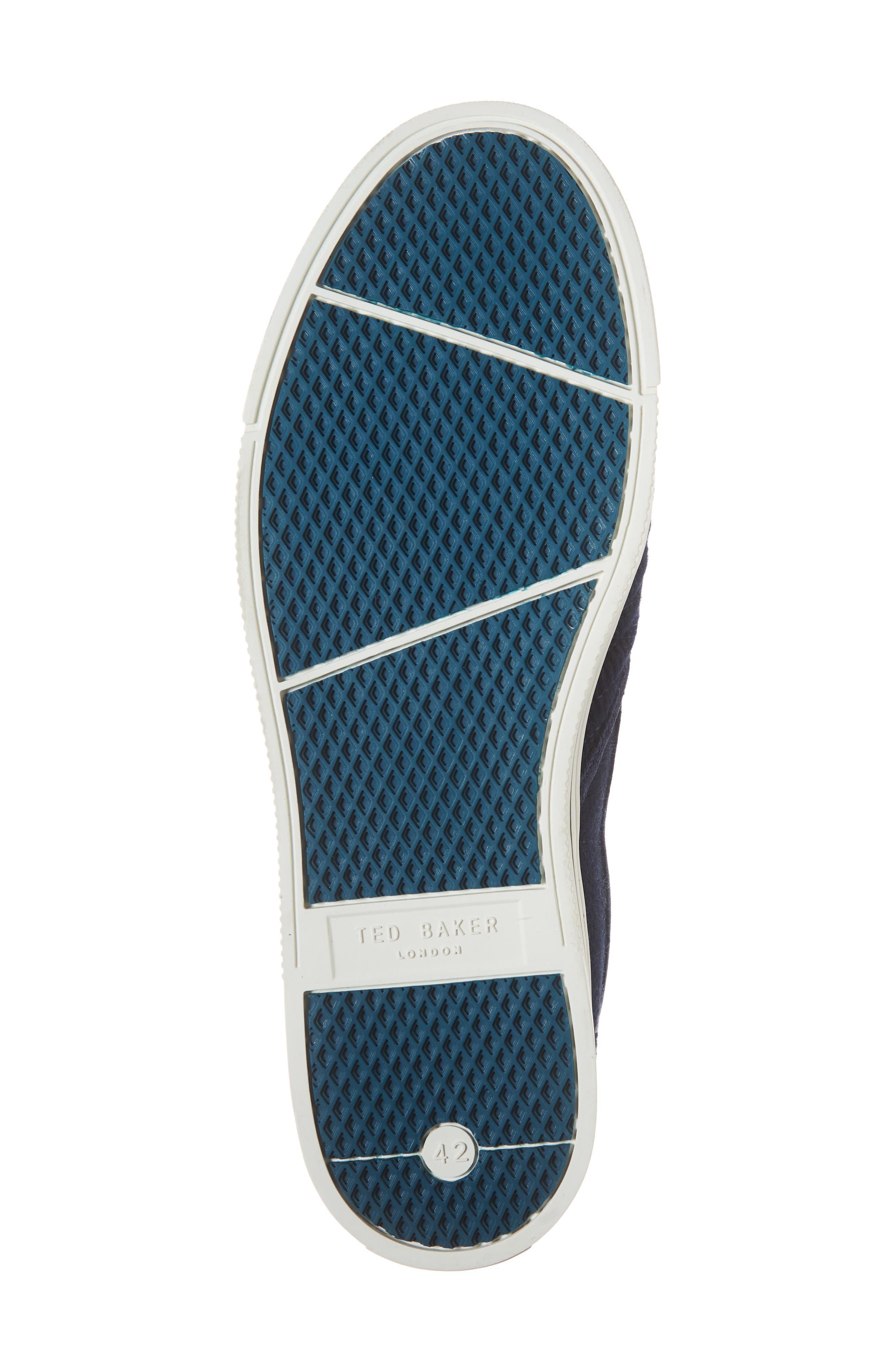 Daniam Slip-On Sneaker,                             Alternate thumbnail 6, color,                             DARK BLUE WOOL