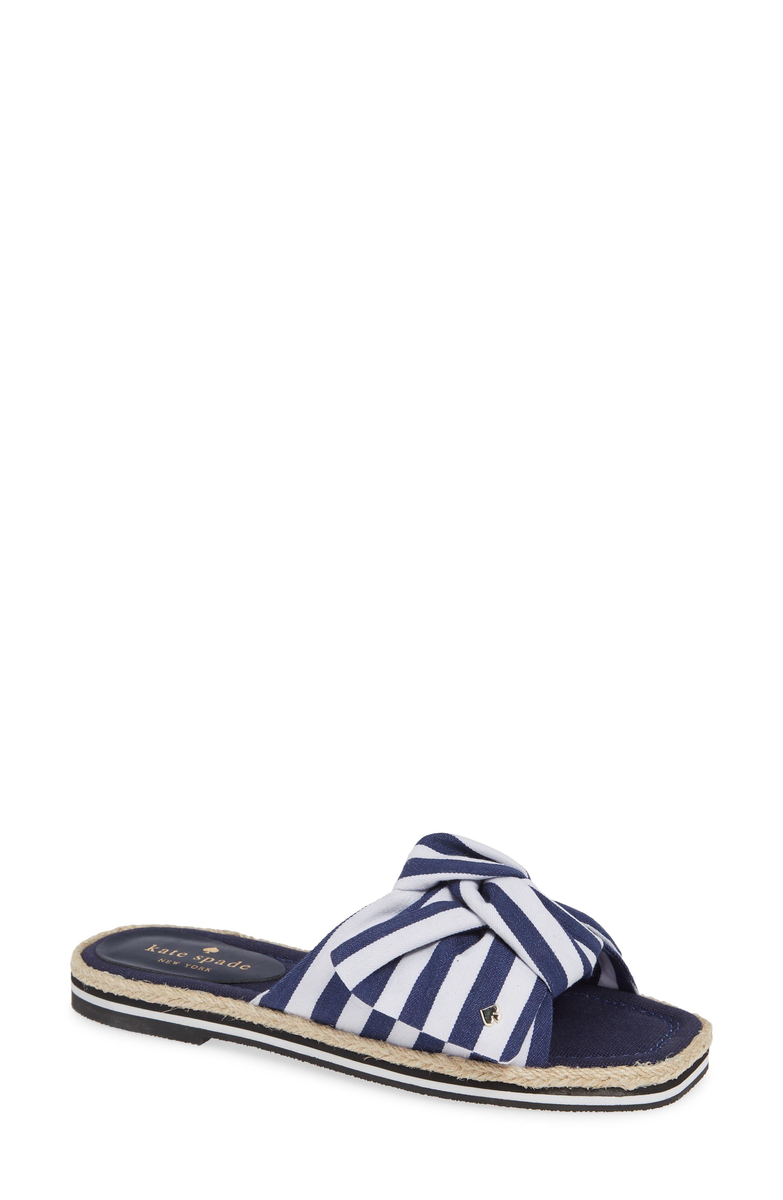 1e1351218f2a Kate Spade New York Caliana Stripe Slide Sandal