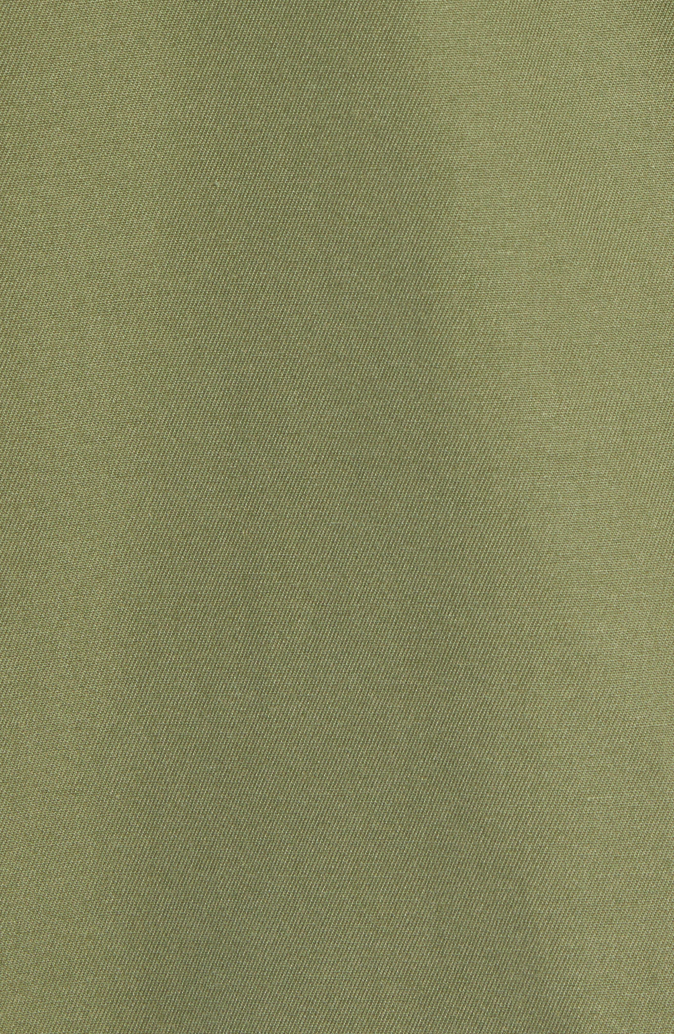 Station Shirt Jacket,                             Alternate thumbnail 6, color,                             BURNT OLIVE