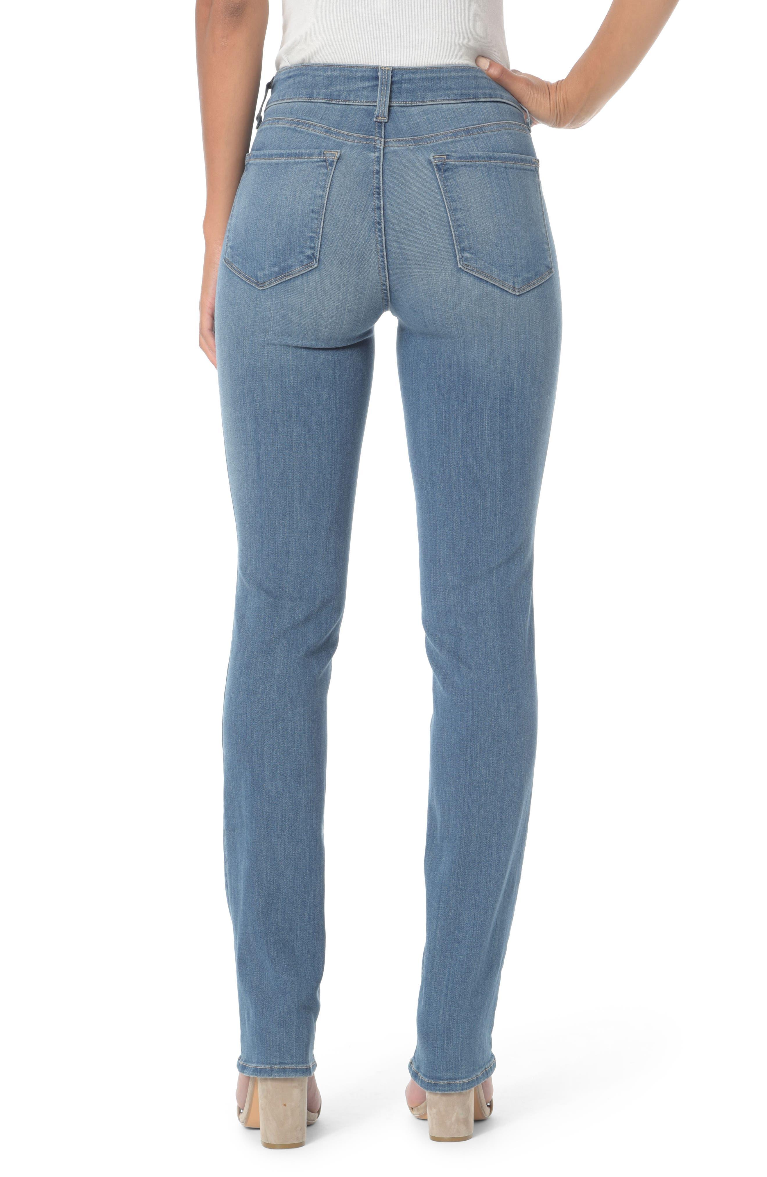 Marilyn Straight Jeans,                             Alternate thumbnail 6, color,