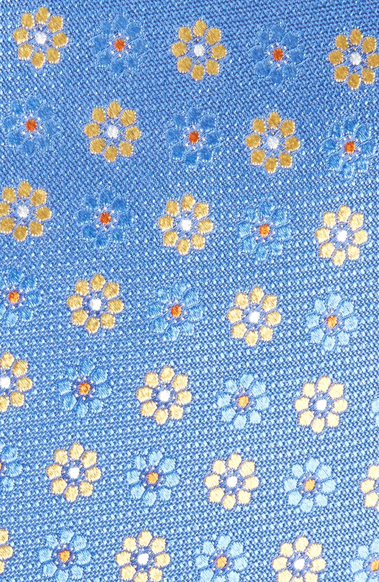 John W. Nordstrom Floral Silk Tie,                             Alternate thumbnail 8, color,