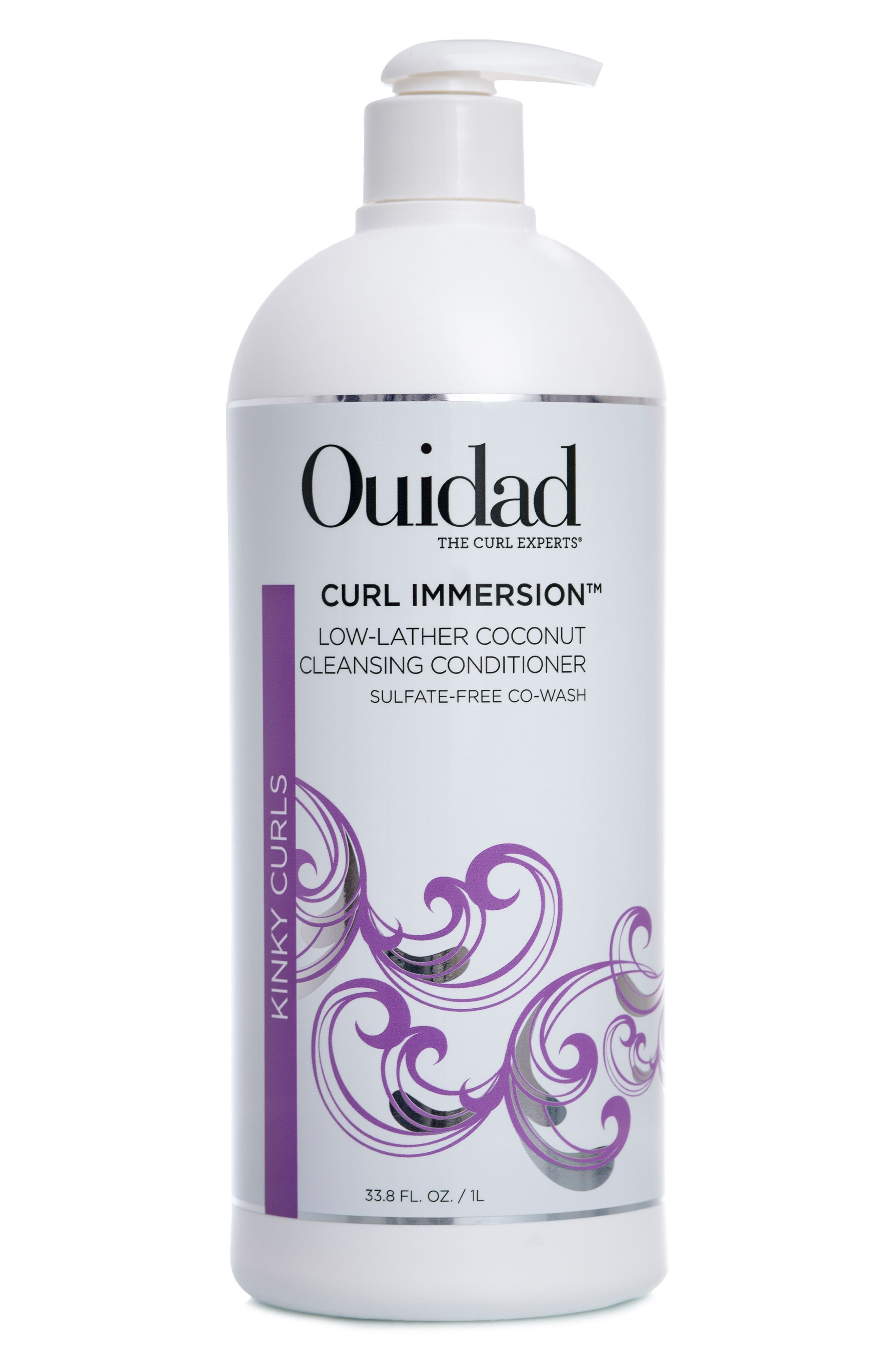 Curl Immersion<sup>®</sup> Coconut Cleansing Conditioner,                             Main thumbnail 1, color,                             000