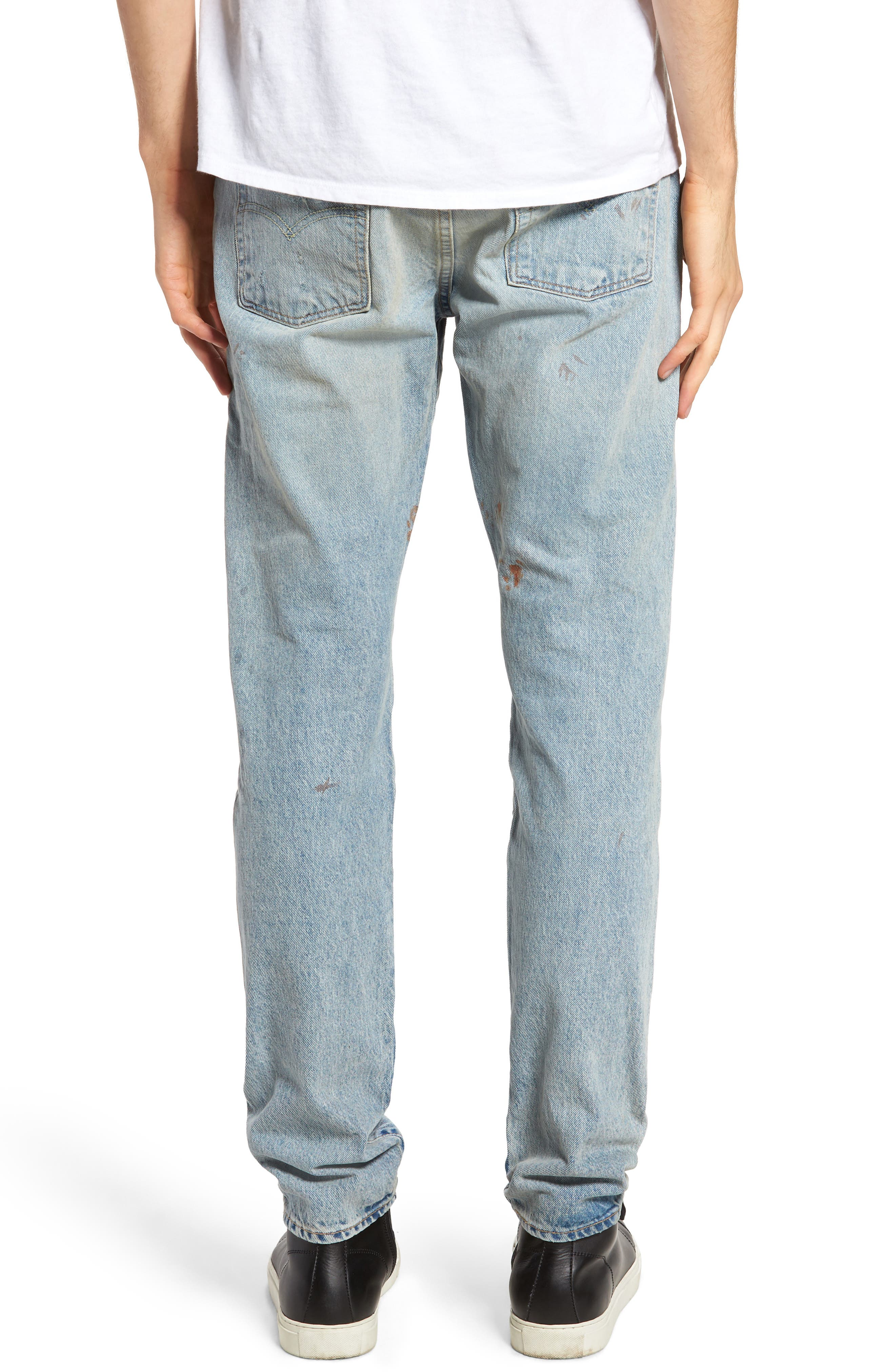 512 Slouchy Skinny Fit Jeans,                             Alternate thumbnail 2, color,                             423