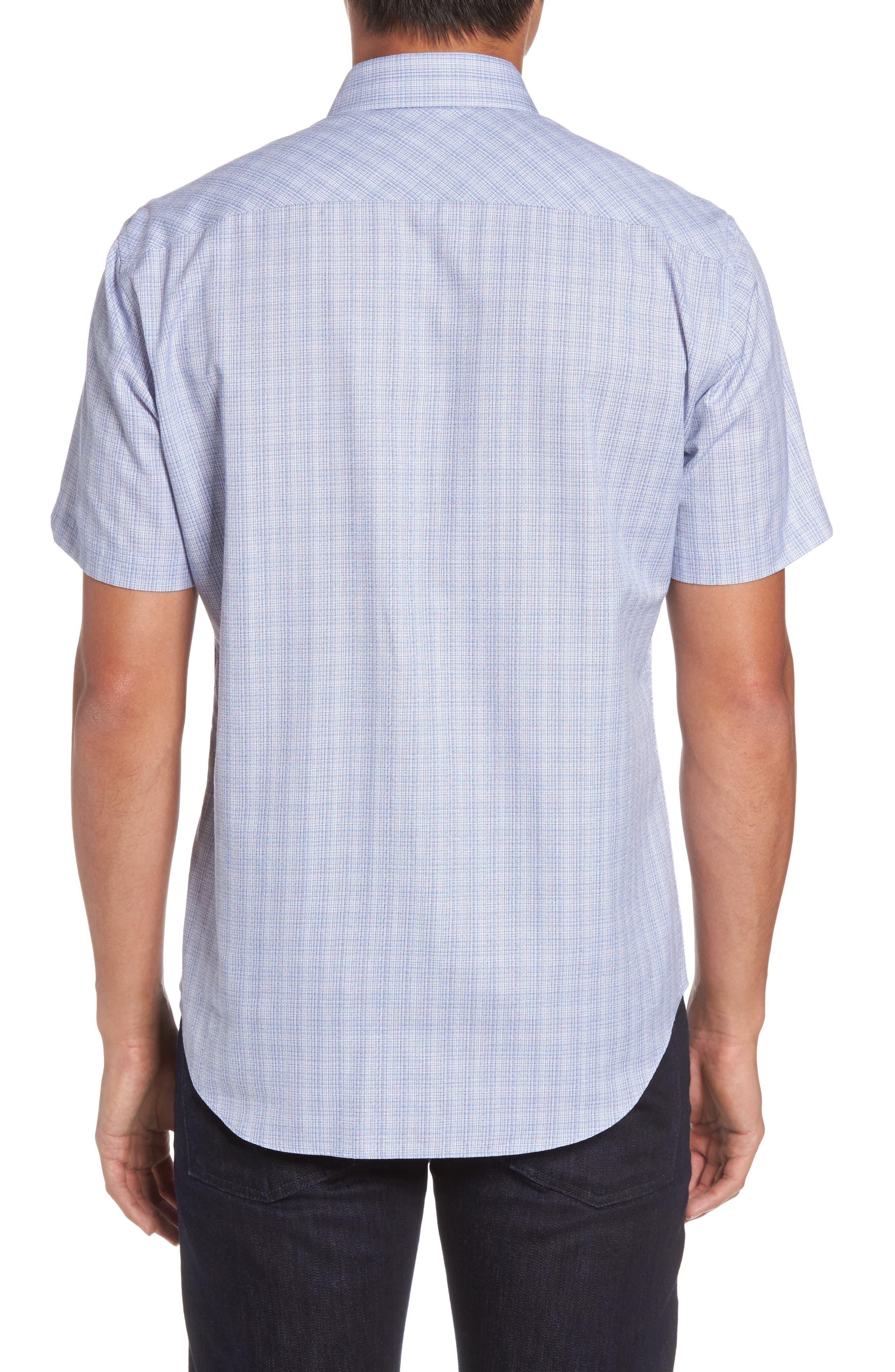 Zimmerman Check Sport Shirt,                             Alternate thumbnail 2, color,                             400