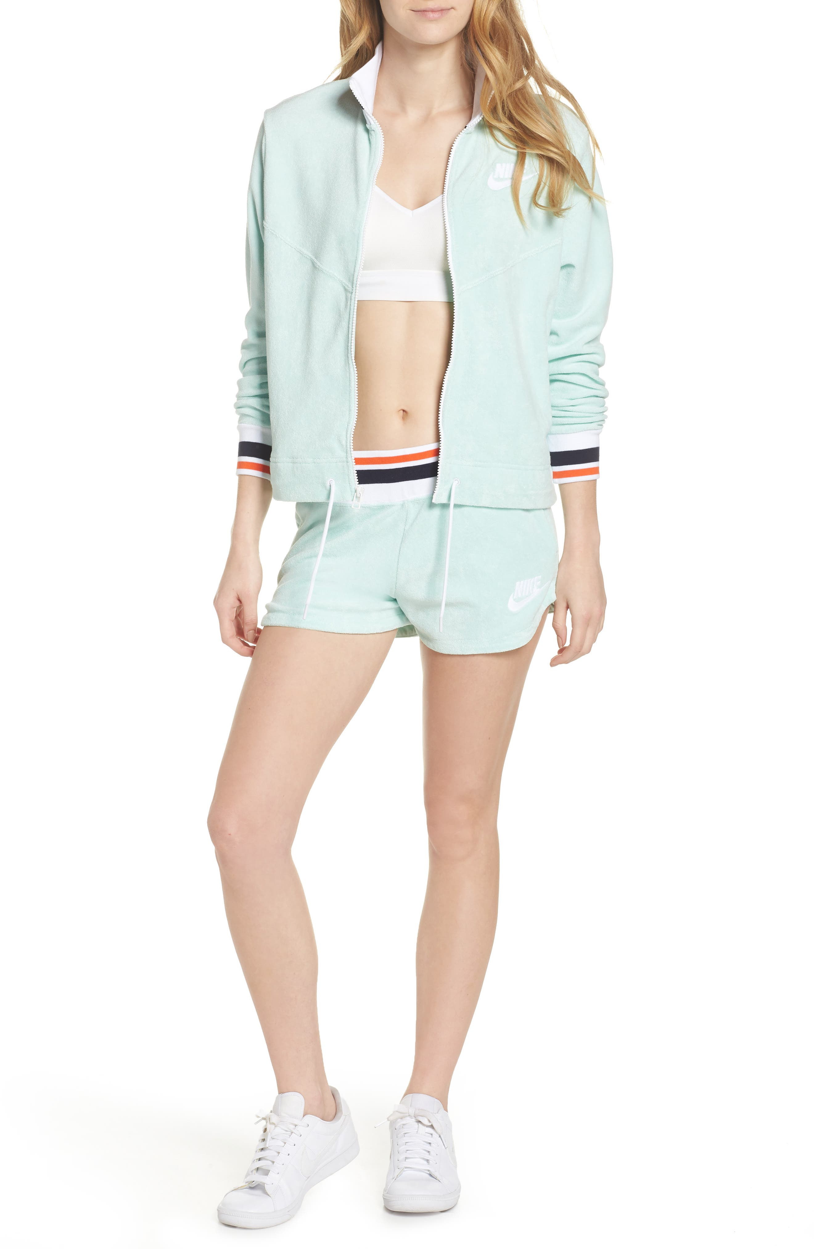 Sportswear French Terry Jacket,                             Alternate thumbnail 28, color,
