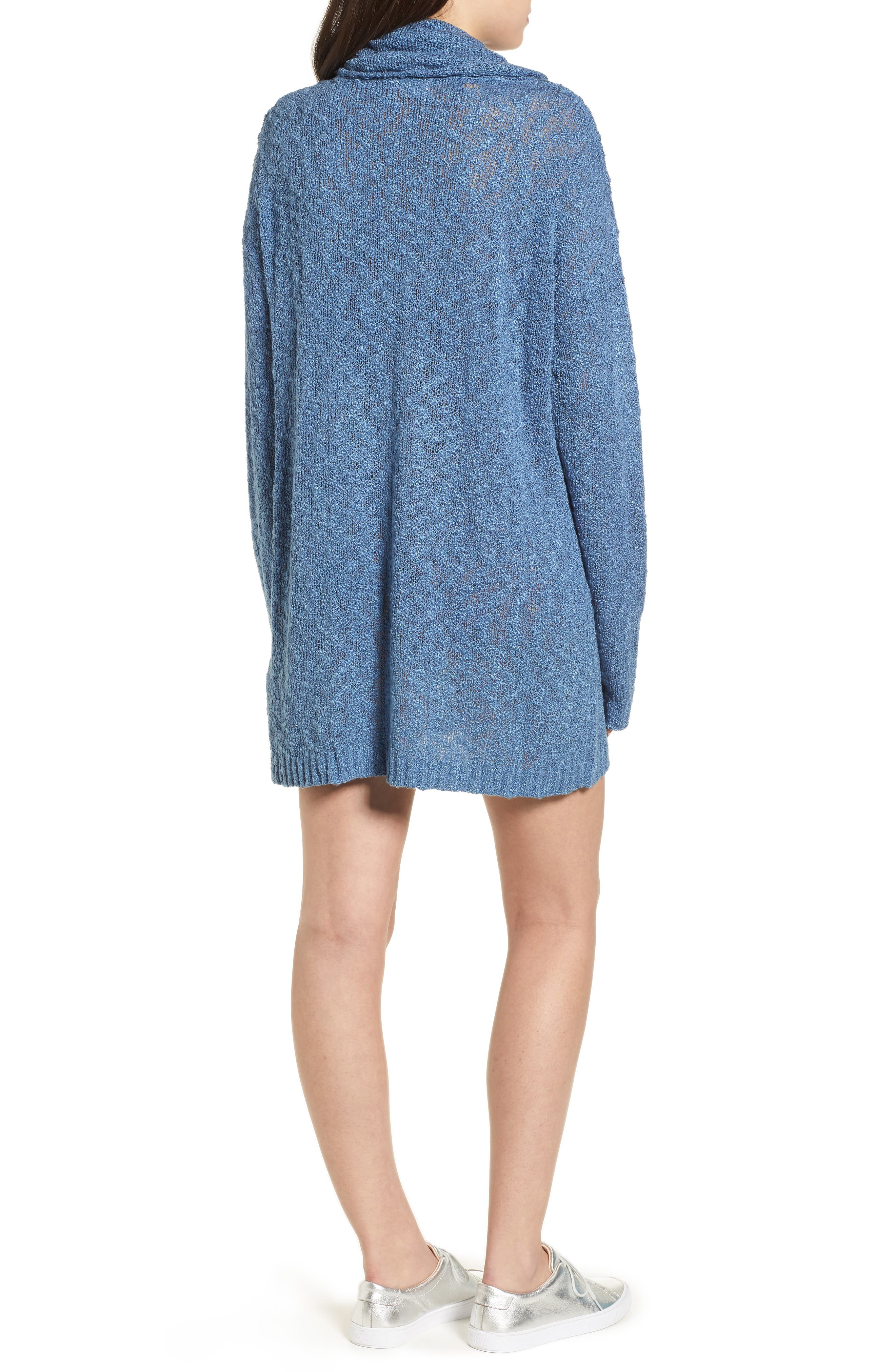 Fading Light Cowl Neck Sweater Dress,                             Alternate thumbnail 2, color,