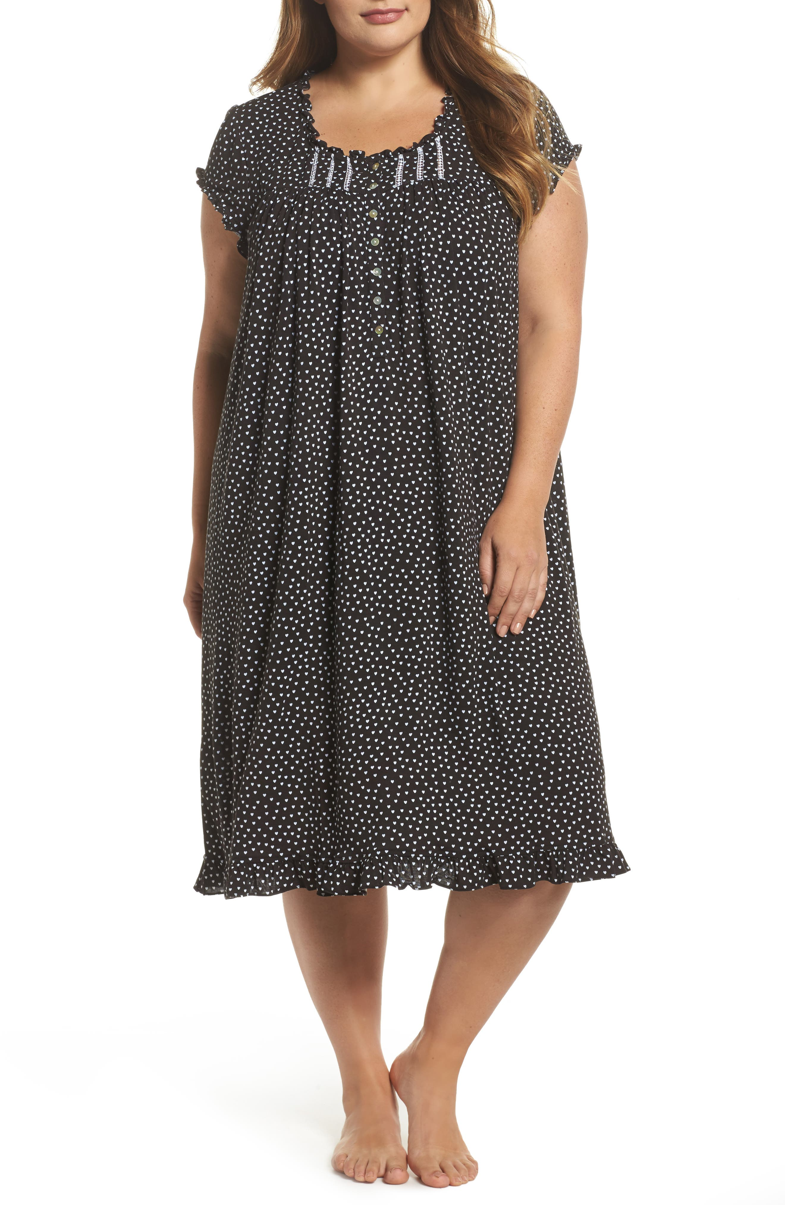Modal Jersey Nightgown,                             Main thumbnail 1, color,